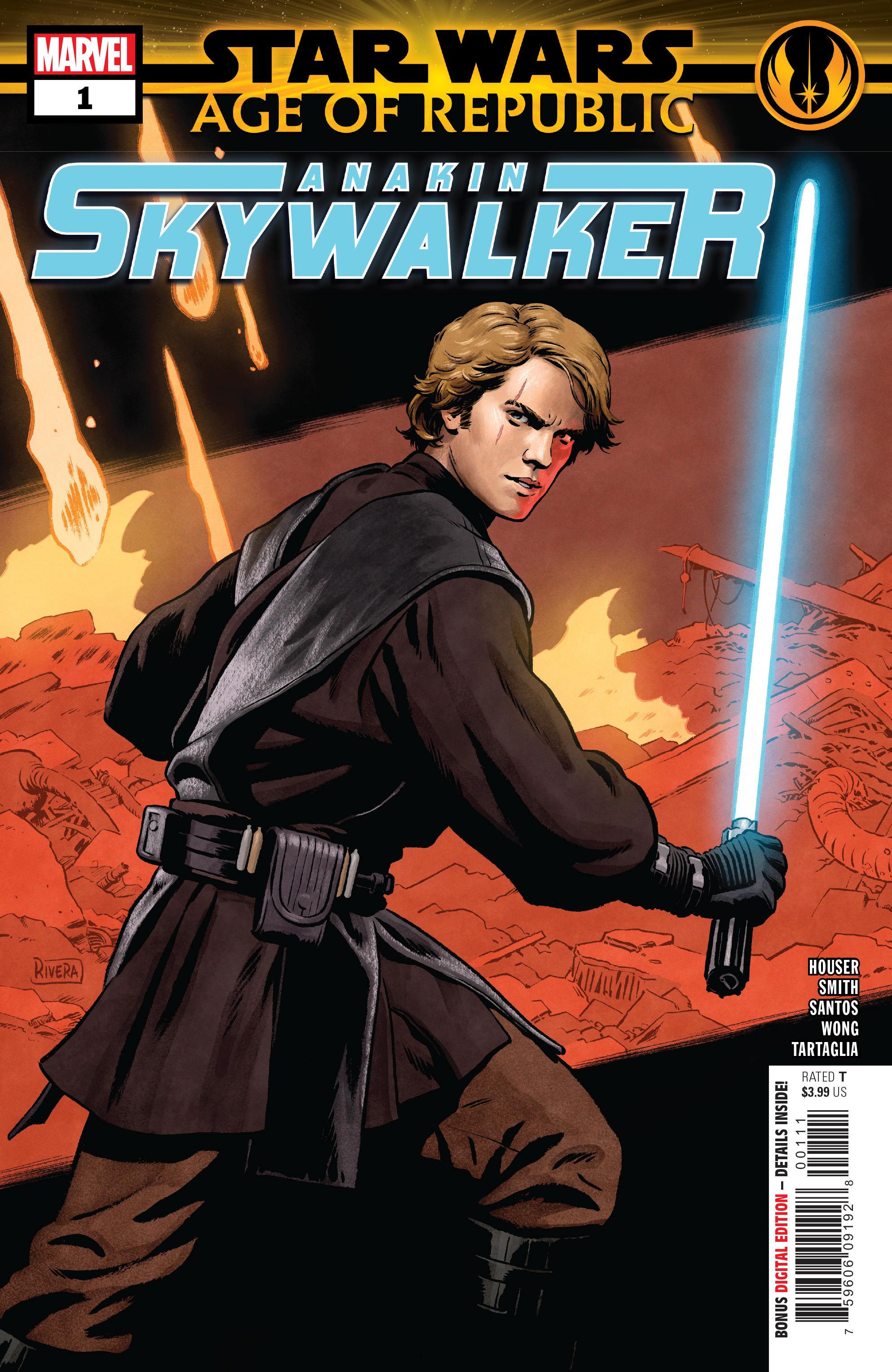 STAR WARS AOR ANAKIN SKYWALKER #1