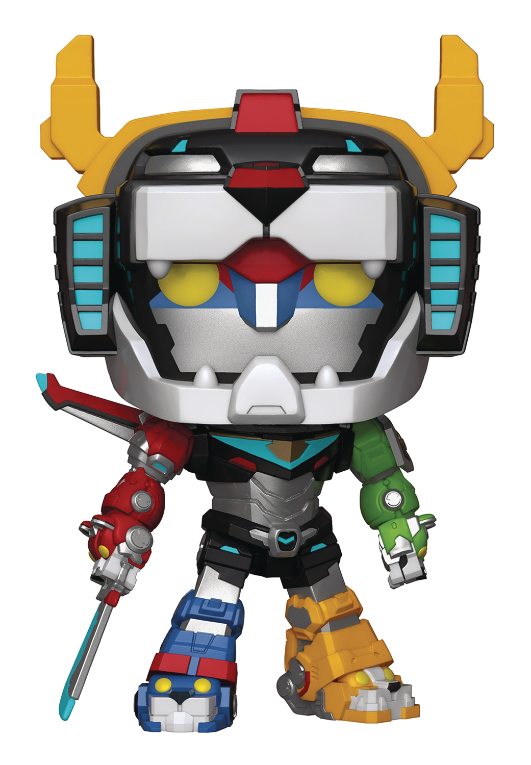 POP VOLTRON 6IN VINYL FIG