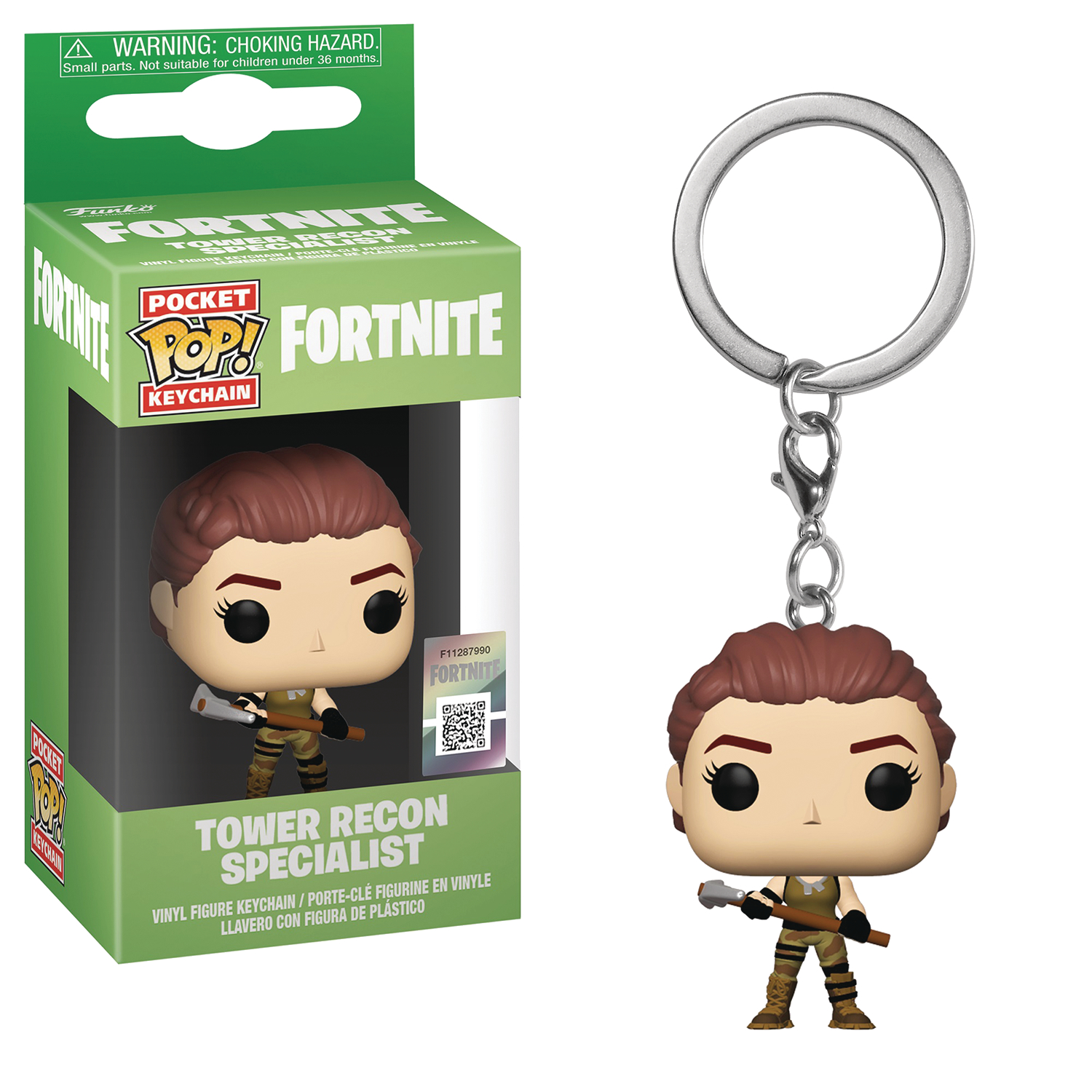 POCKET POP FORTNITE S1A TOWER RECON FIG KEYCHAIN