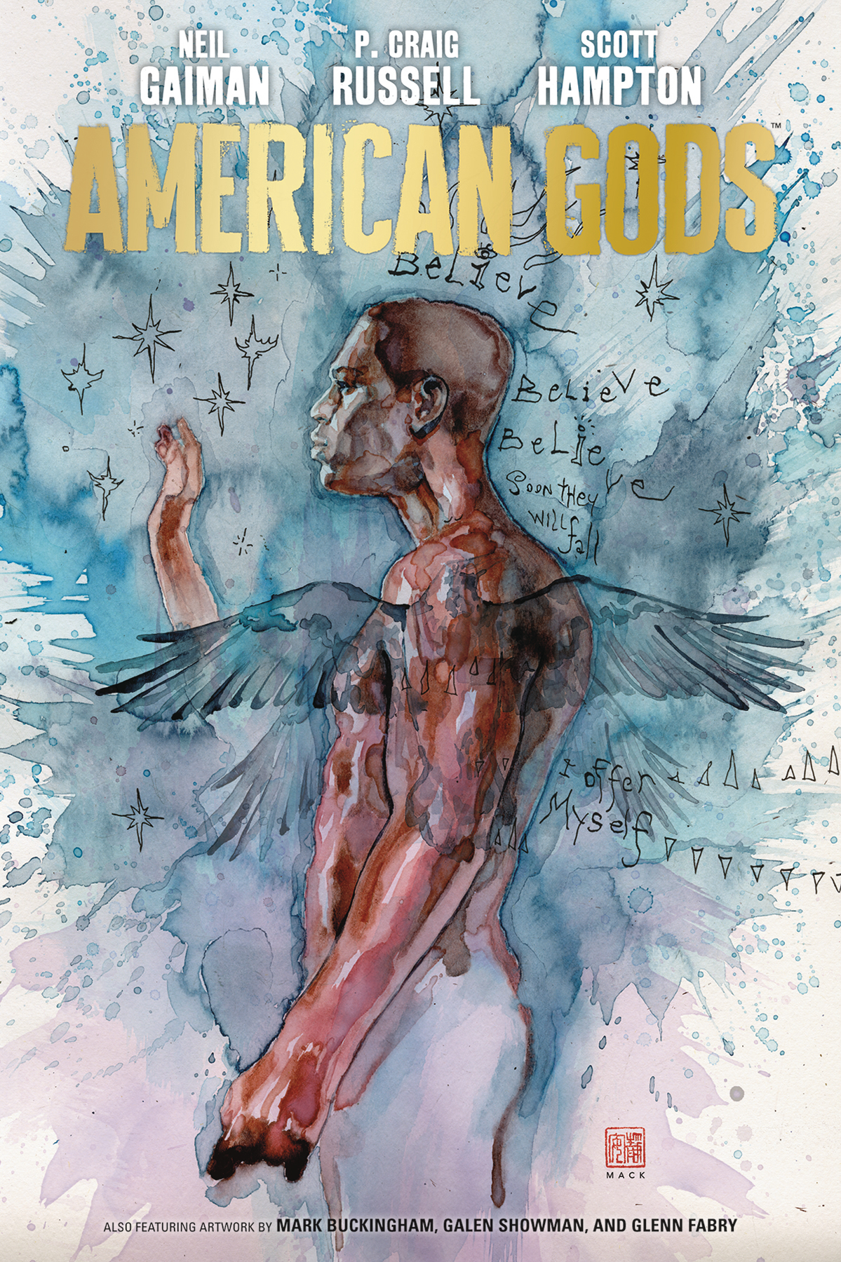 NEIL GAIMAN AMERICAN GODS HC VOL 02 MY AINSEL (DEC180366) (C