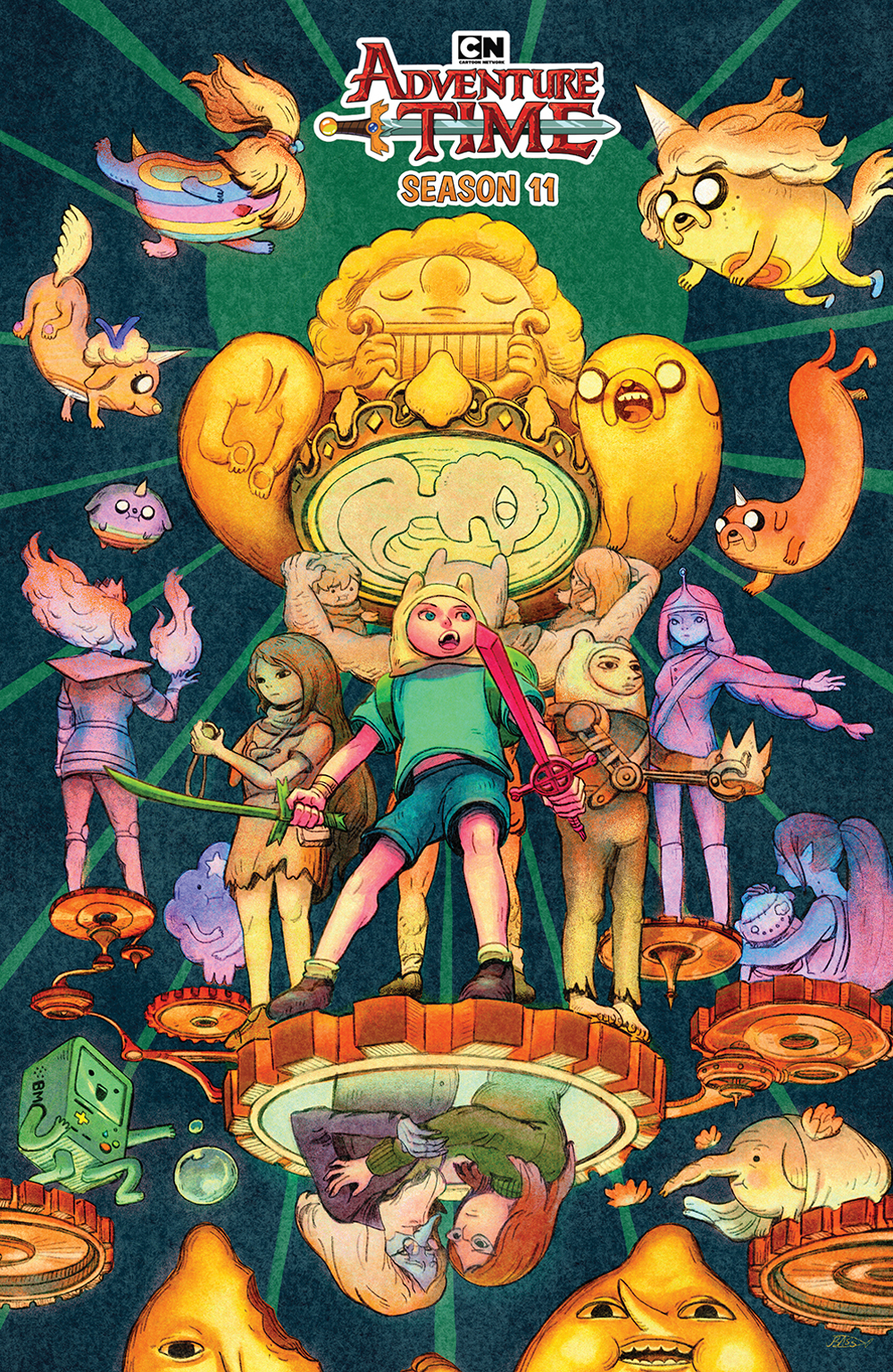 ADVENTURE TIME SEASON 11 #5 PREORDER BENBASSAT