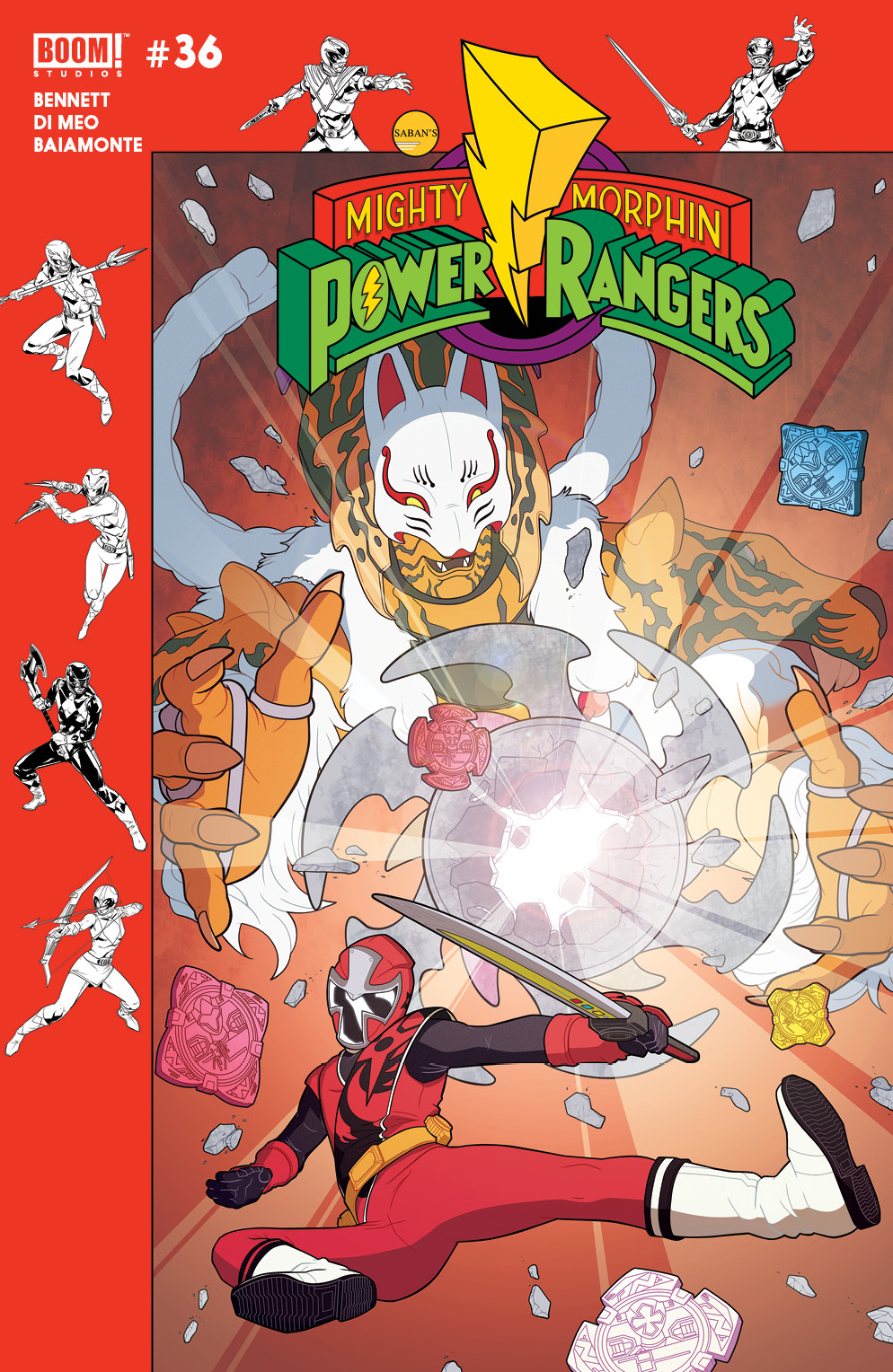 MIGHTY MORPHIN POWER RANGERS #36 PREORDER MURPHY VAR