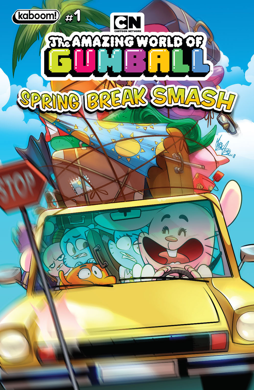 AMAZING WORLD GUMBALL SPRING BREAK SMASH #1 MAIN