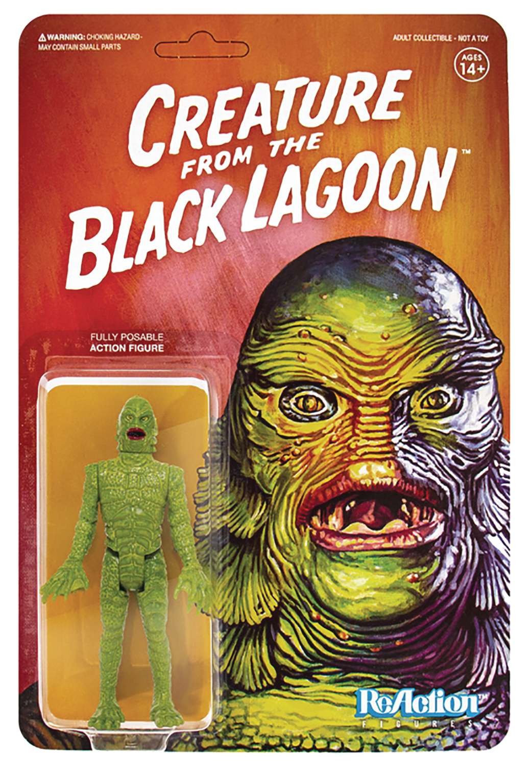 UNIVERSAL MONSTERS CREATURE FROM BLACK LAGOON REACTION FIG (