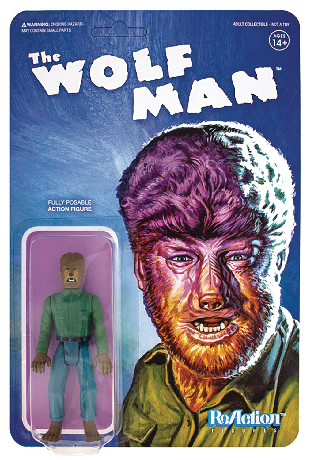 UNIVERSAL MONSTERS WOLFMAN REACTION FIG (SEP188589) (C