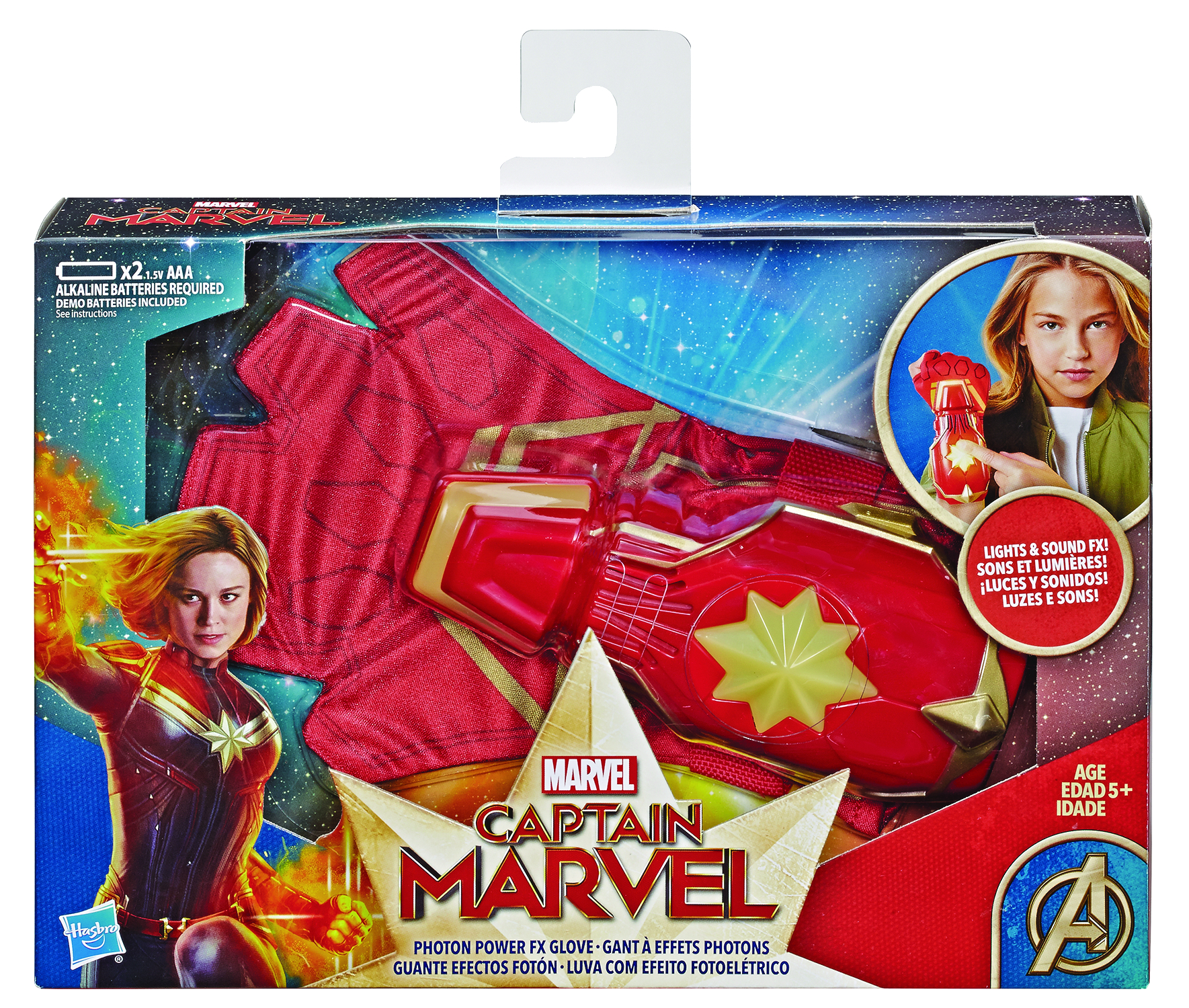 CAPTAIN MARVEL ROLEPLAY POWER FX GLOVE CS