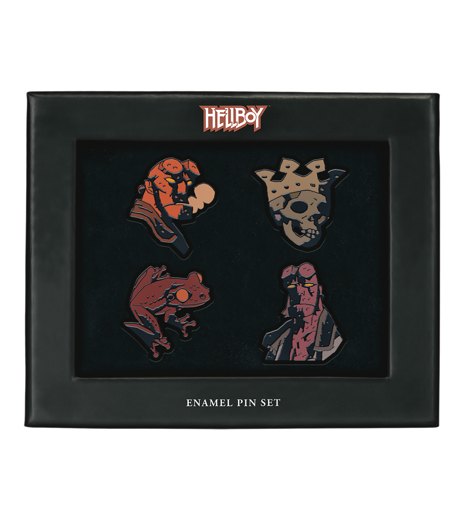 HELLBOY ENAMEL PIN SET (DEC180424)