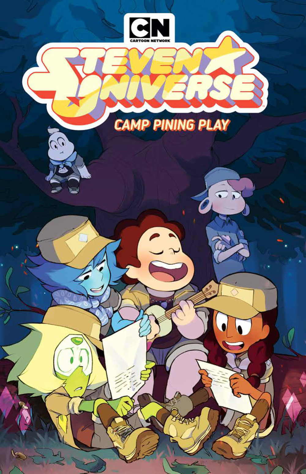 STEVEN UNIVERSE ORIGINAL GN VOL 04 CAMP PINING PLAY