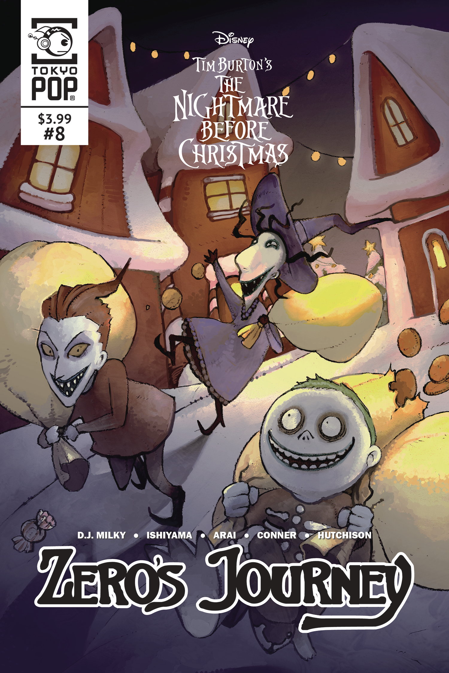 NIGHTMARE BEFORE CHRISTMAS ZEROS JOURNEY #8