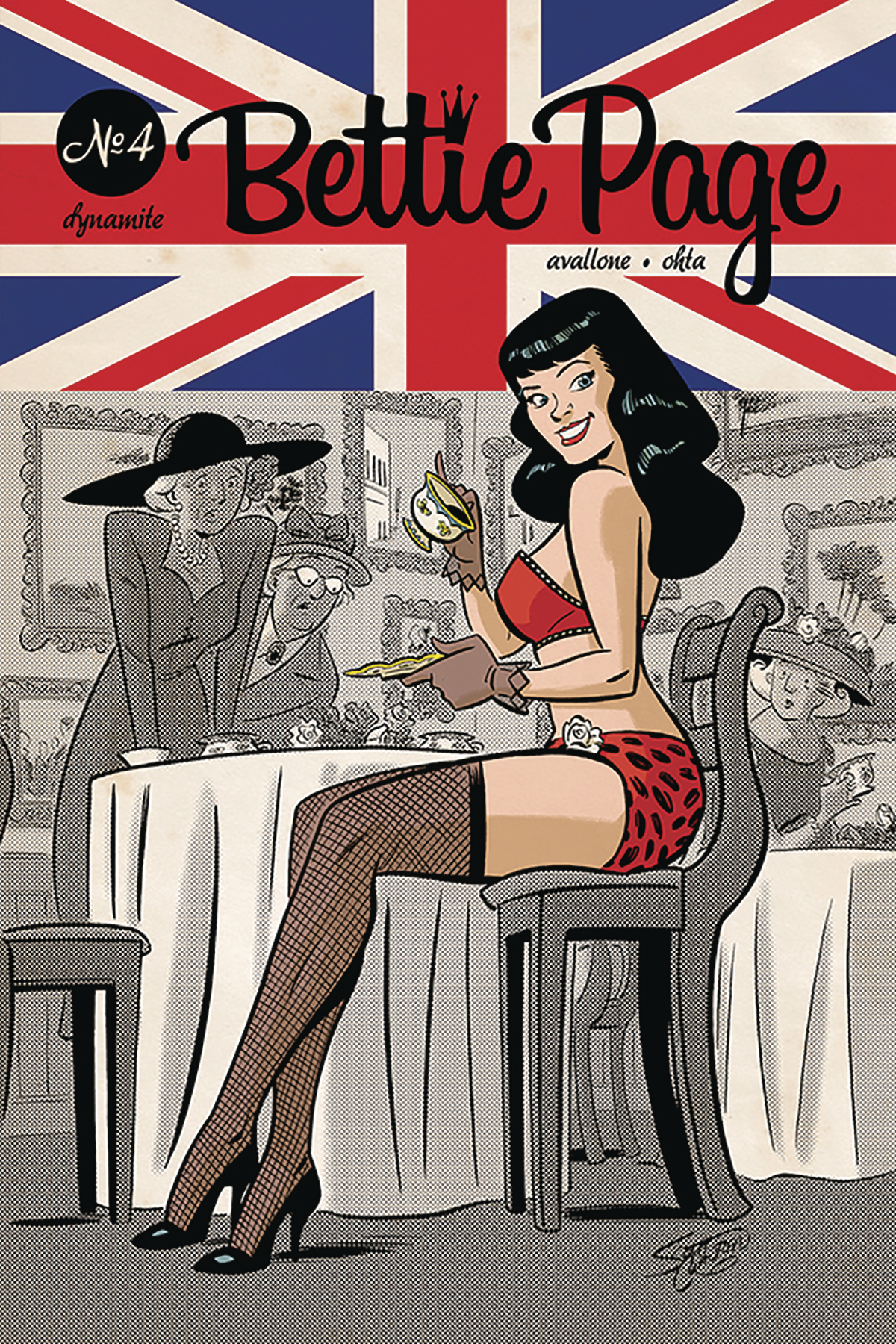 BETTIE PAGE #4 CVR B CHANTLER
