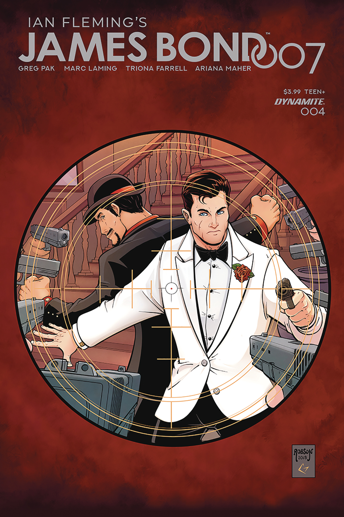 JAMES BOND 007 #4 CVR B ROBSON