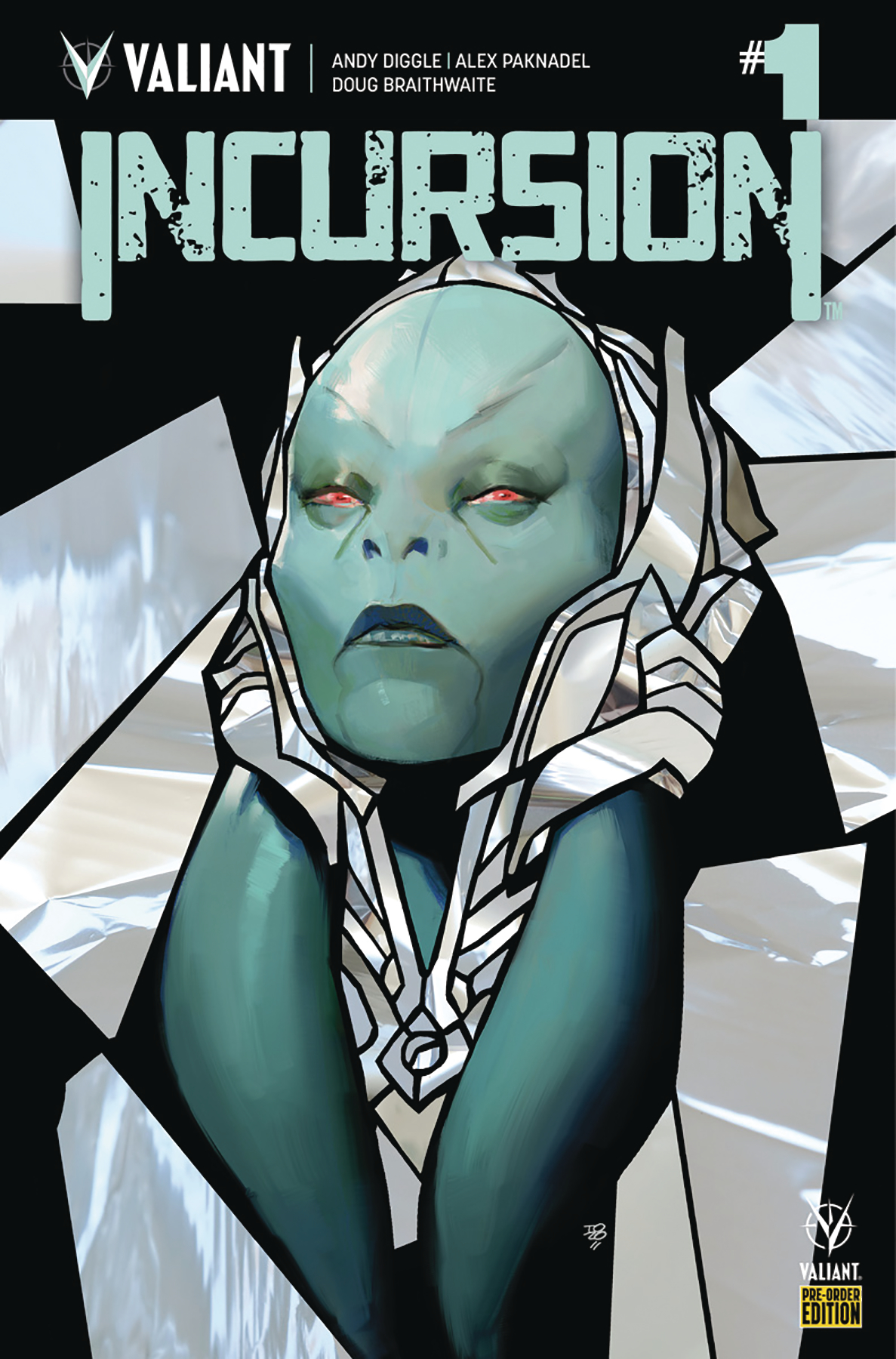 INCURSION #1 CVR F #1-4 PREORDER BUNDLE ED