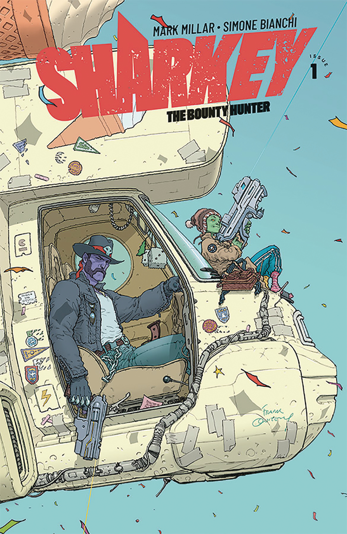 SHARKEY BOUNTY HUNTER #1 (OF 6) CVR C QUITELY (MR)