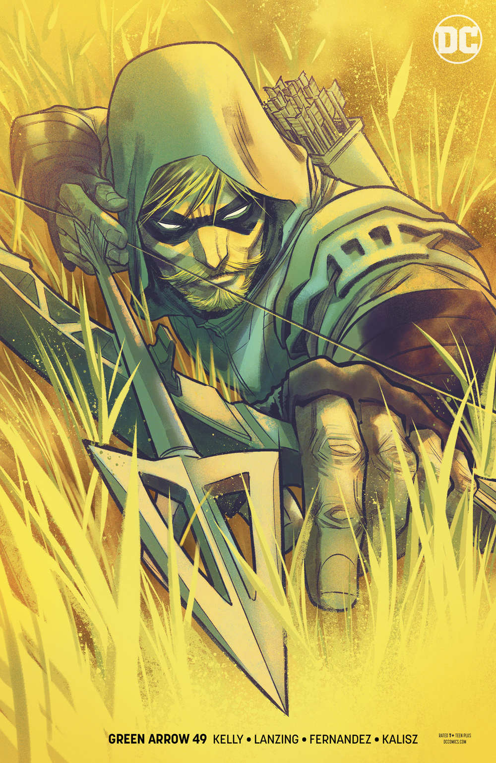 GREEN ARROW #49 VAR ED