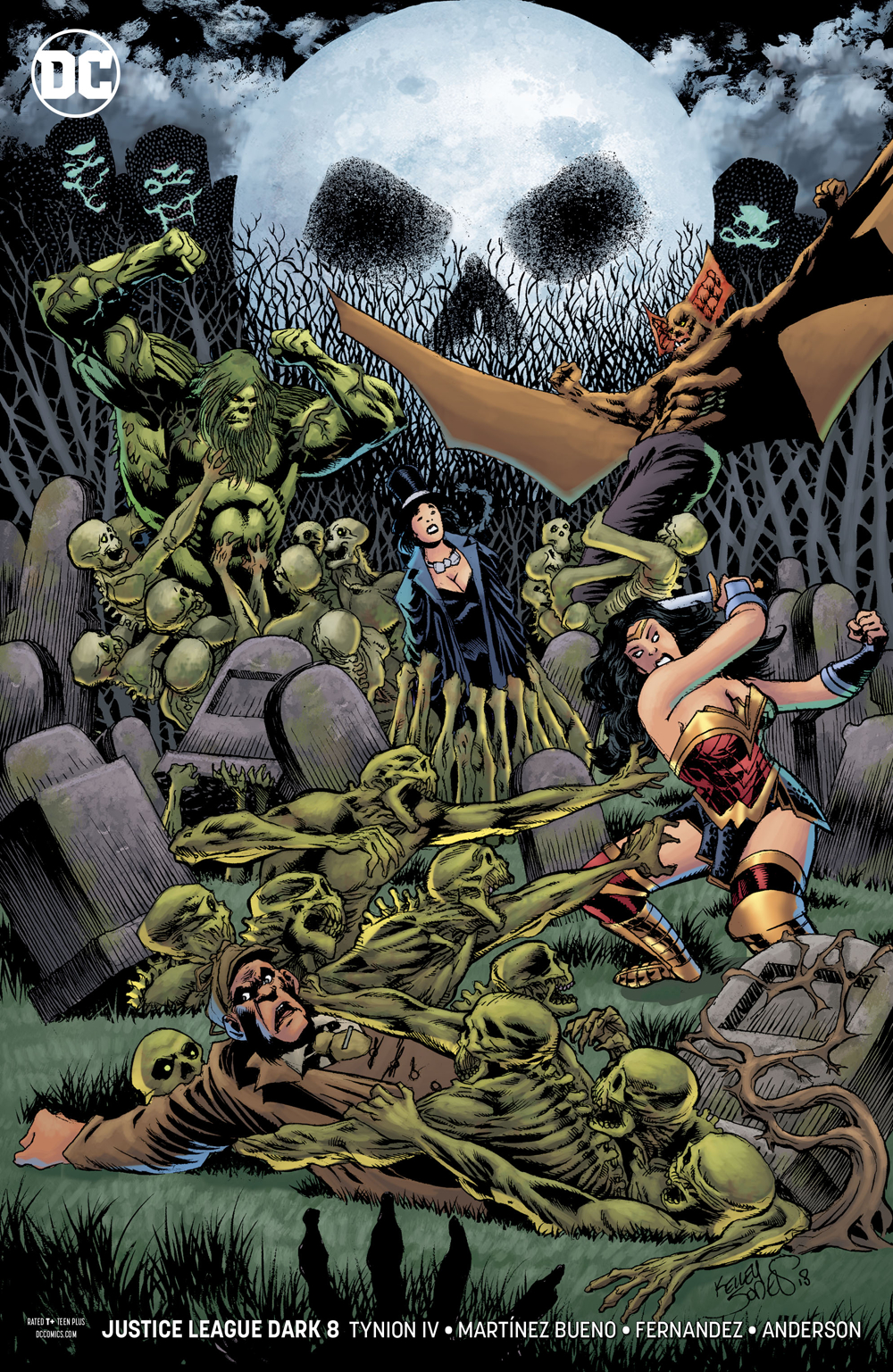 JUSTICE LEAGUE DARK #8 VAR ED