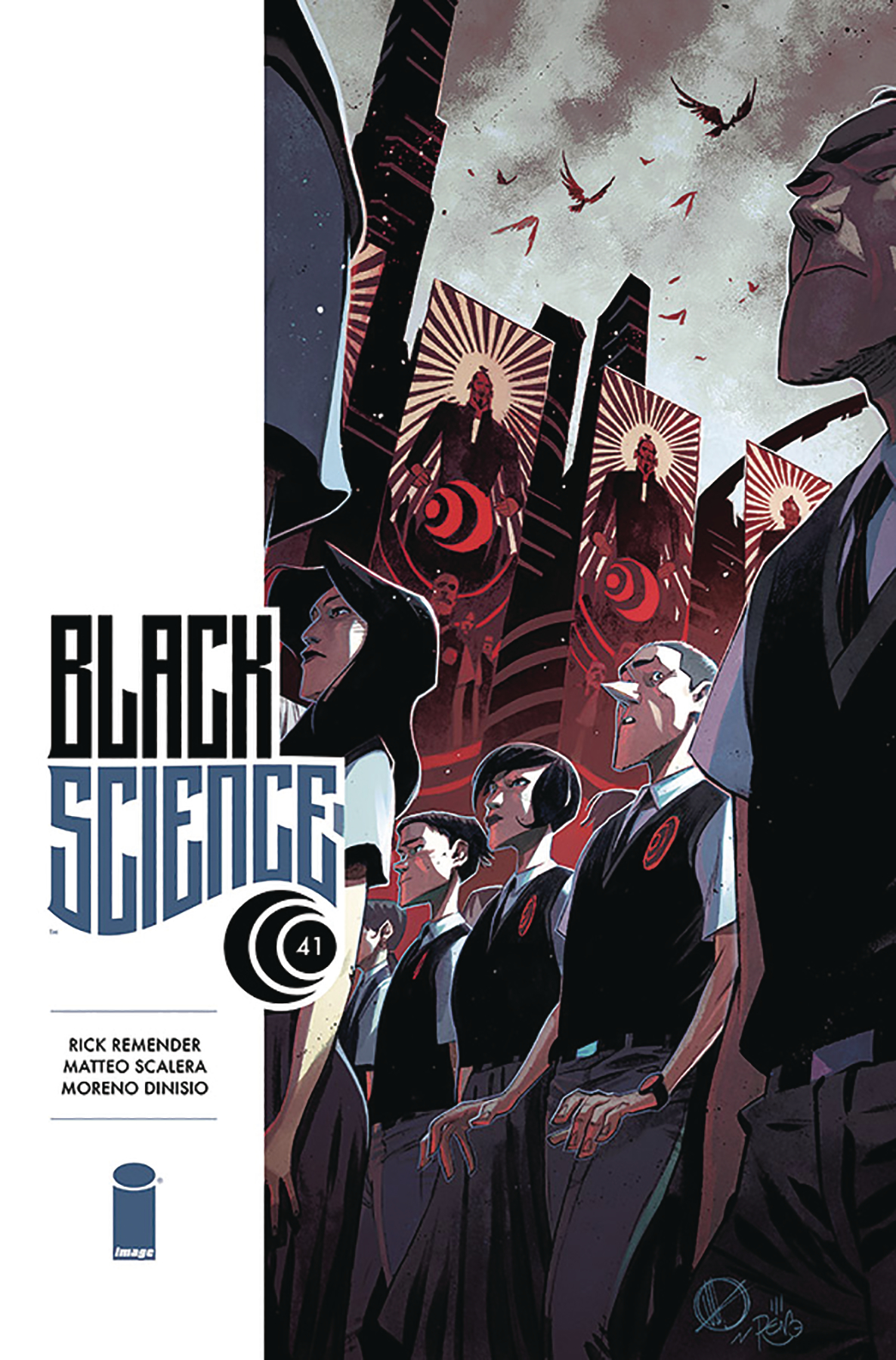 BLACK SCIENCE #41 CVR A SCALERA (MR)