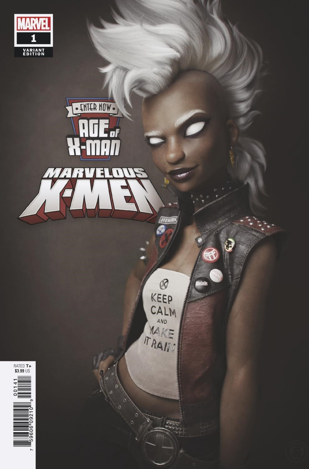 AGE OF X-MAN MARVELOUS X-MEN #1 (OF 5) HUGO VAR