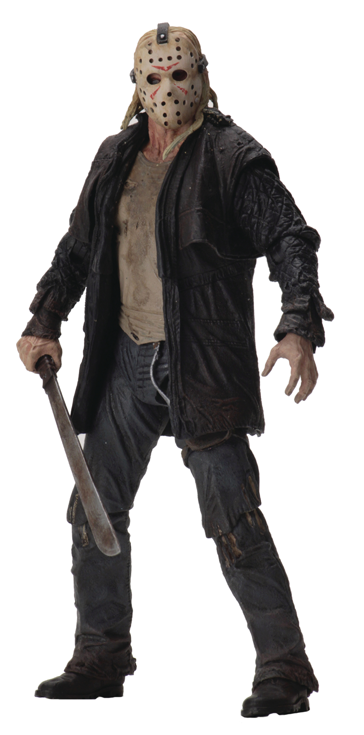 FRIDAY THE 13TH 2009 JASON ULTIMATE 7IN SCALE AF