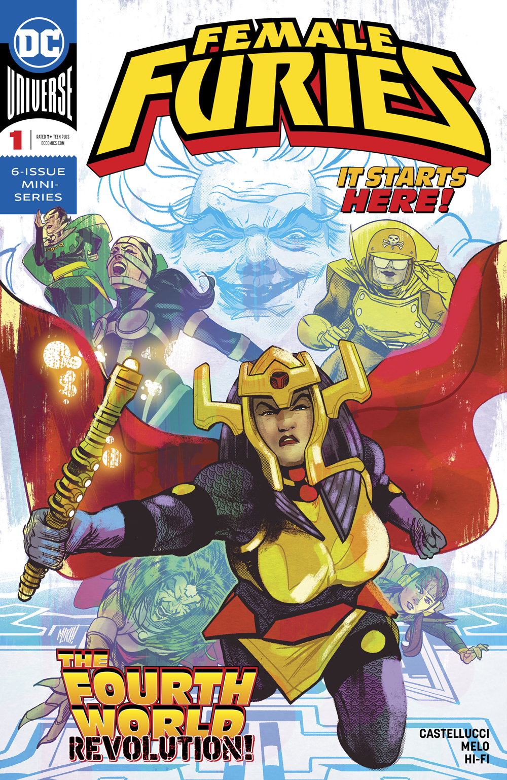 FEMALE FURIES #1 (OF 6)