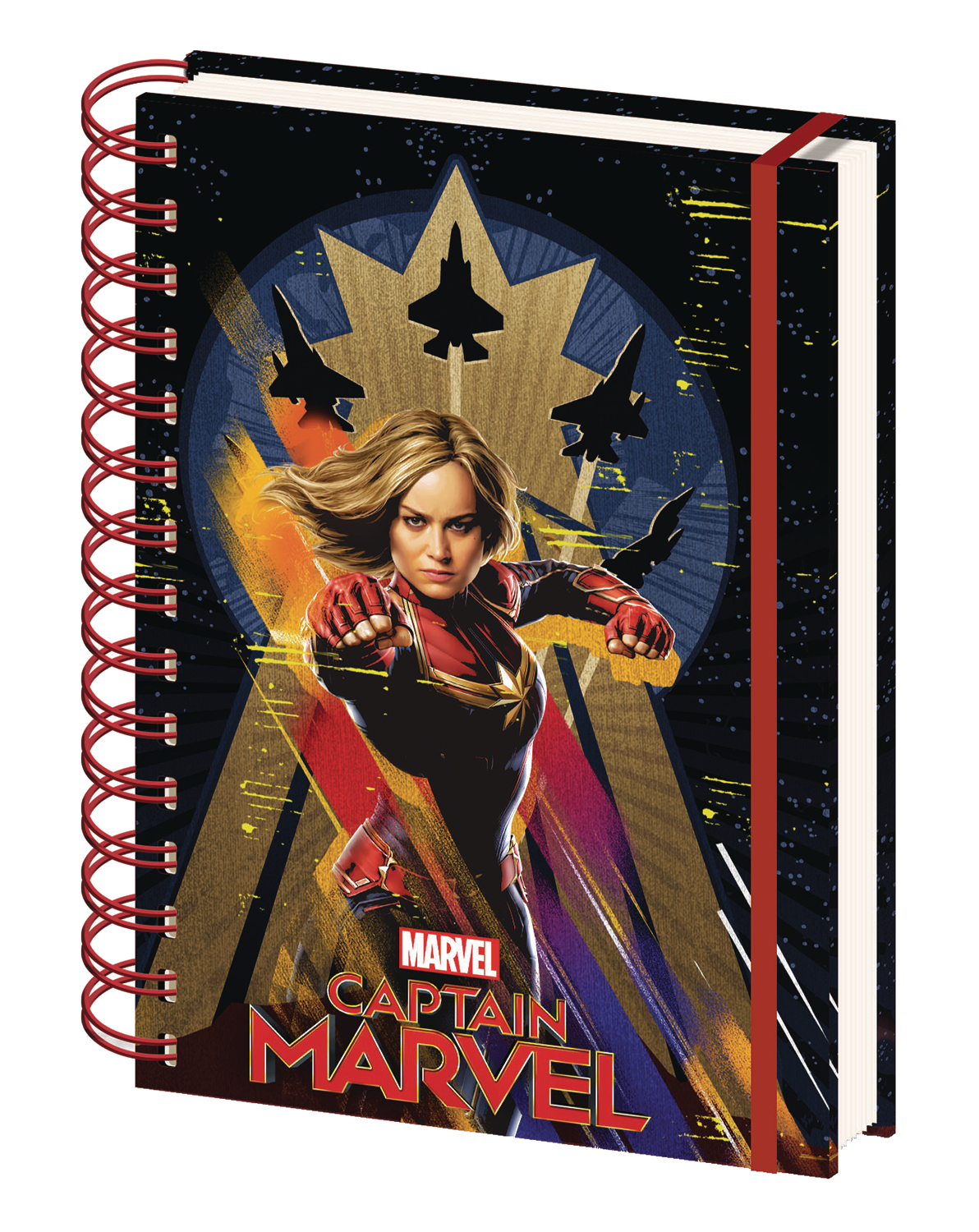 CAPTAIN MARVEL SPIRAL JOURNAL