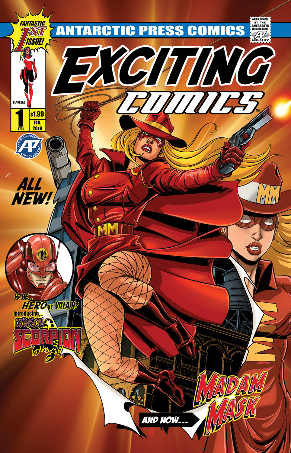 EXCITING COMICS #1 MAIN CVR
