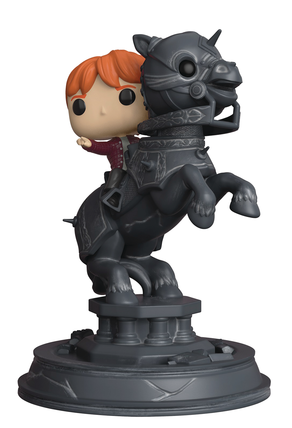 POP MOVIE MOMENT HARRY POTTER S5 RON & CHESS PIECE VIN FIG (