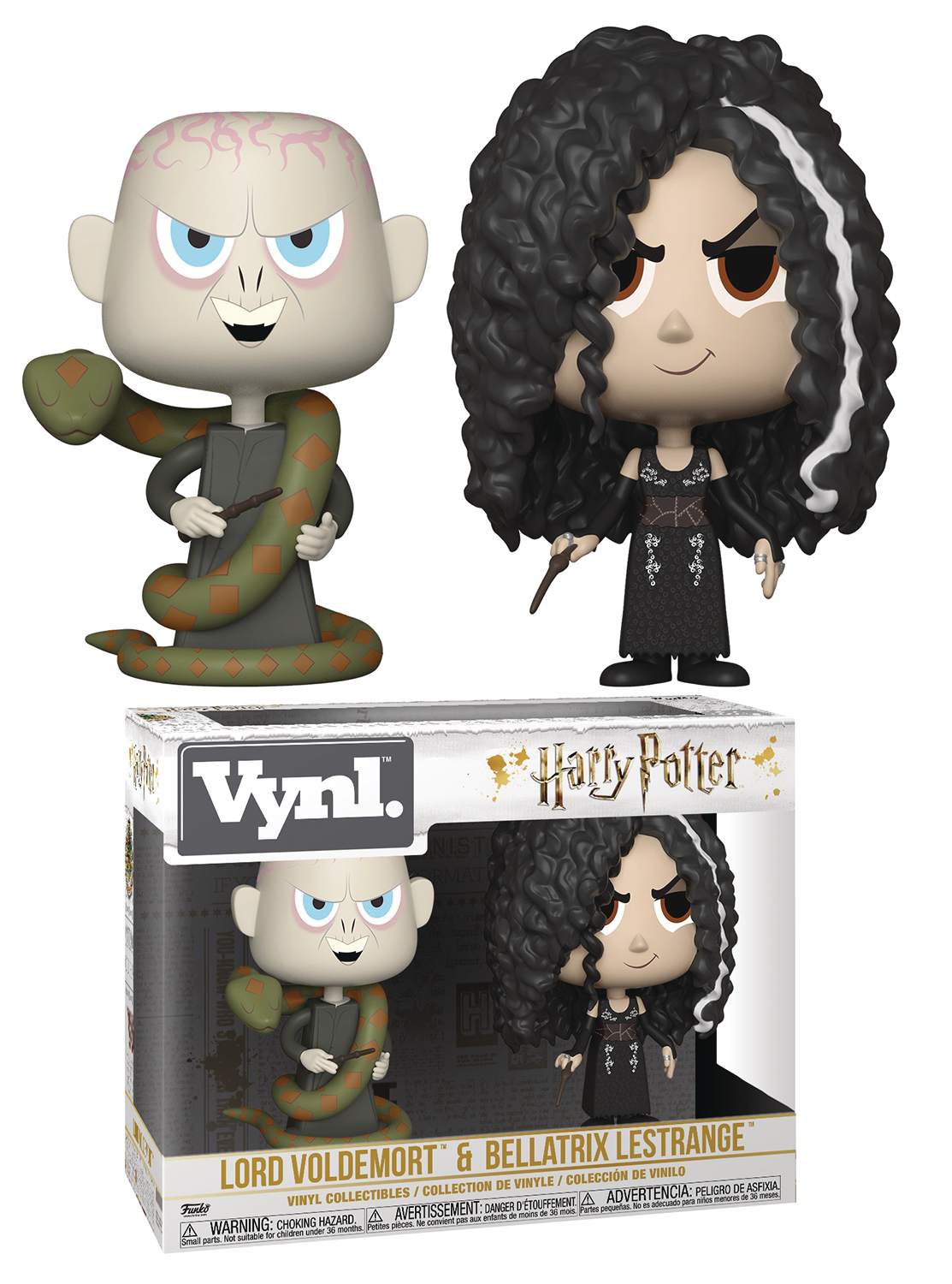 VYNL HARRY POTTER S5 BELLATRIX & VOLDEMORT VIN FIG 2PK