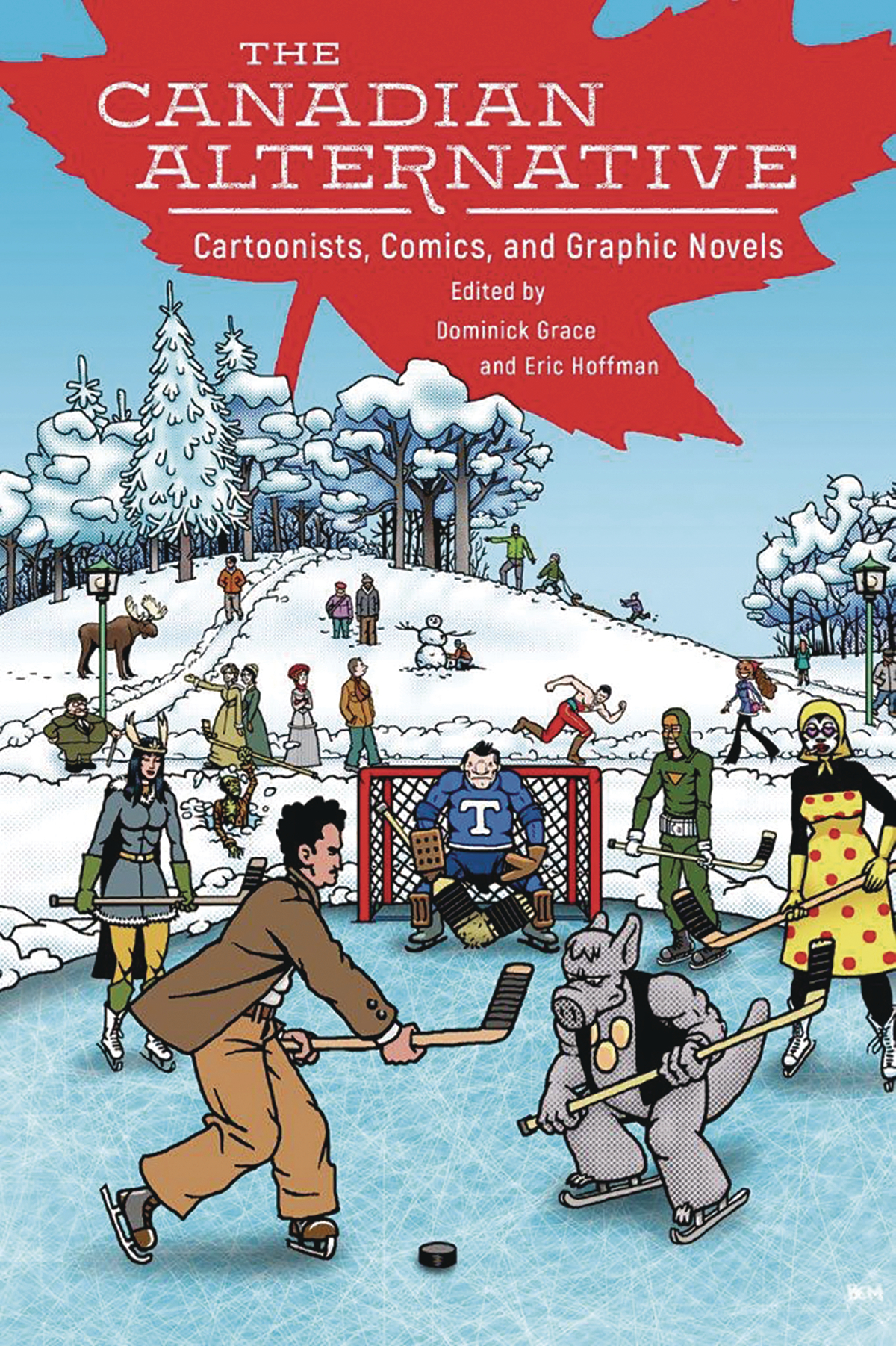 CANADIAN ALTERNATIVE CARTOONISTS COMICS & GNS SC
