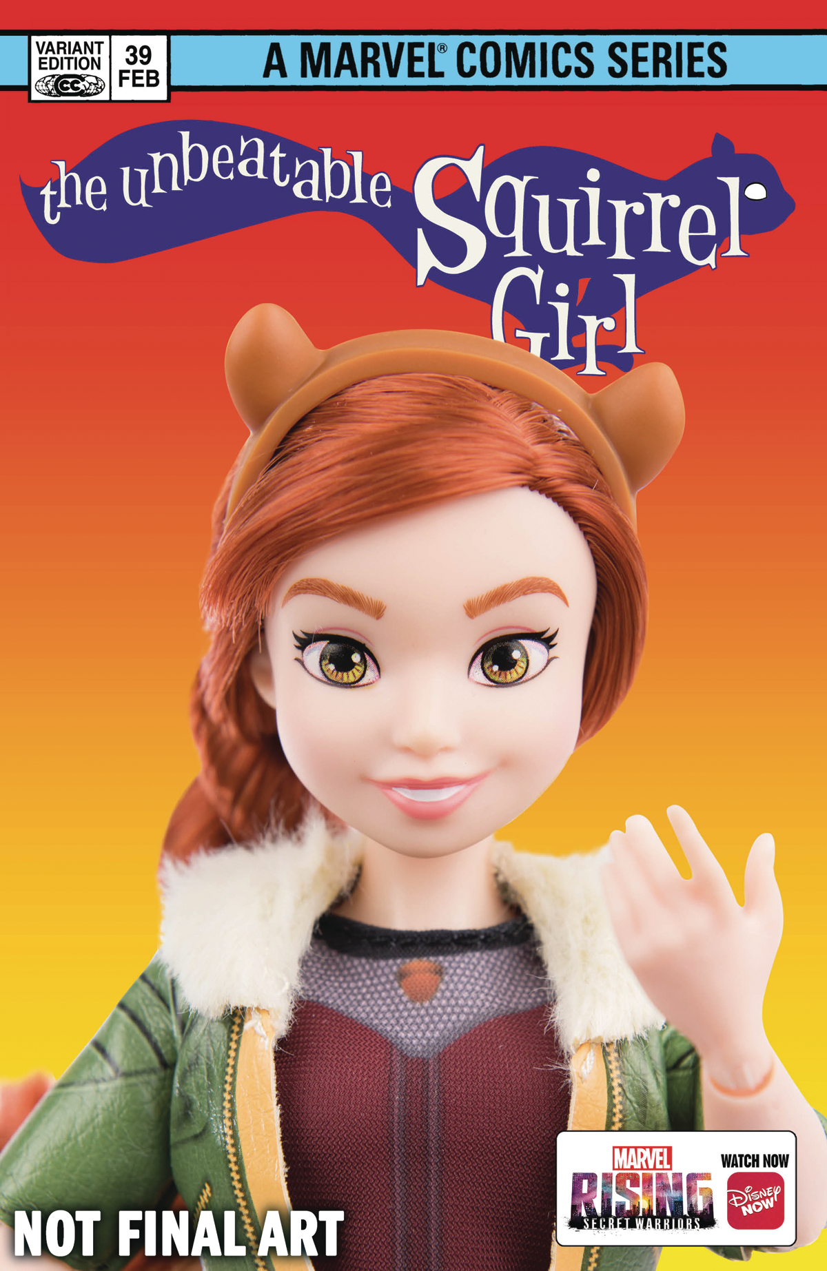 UNBEATABLE SQUIRREL GIRL #39 MARVEL RISING ACTION DOLL HOMAG
