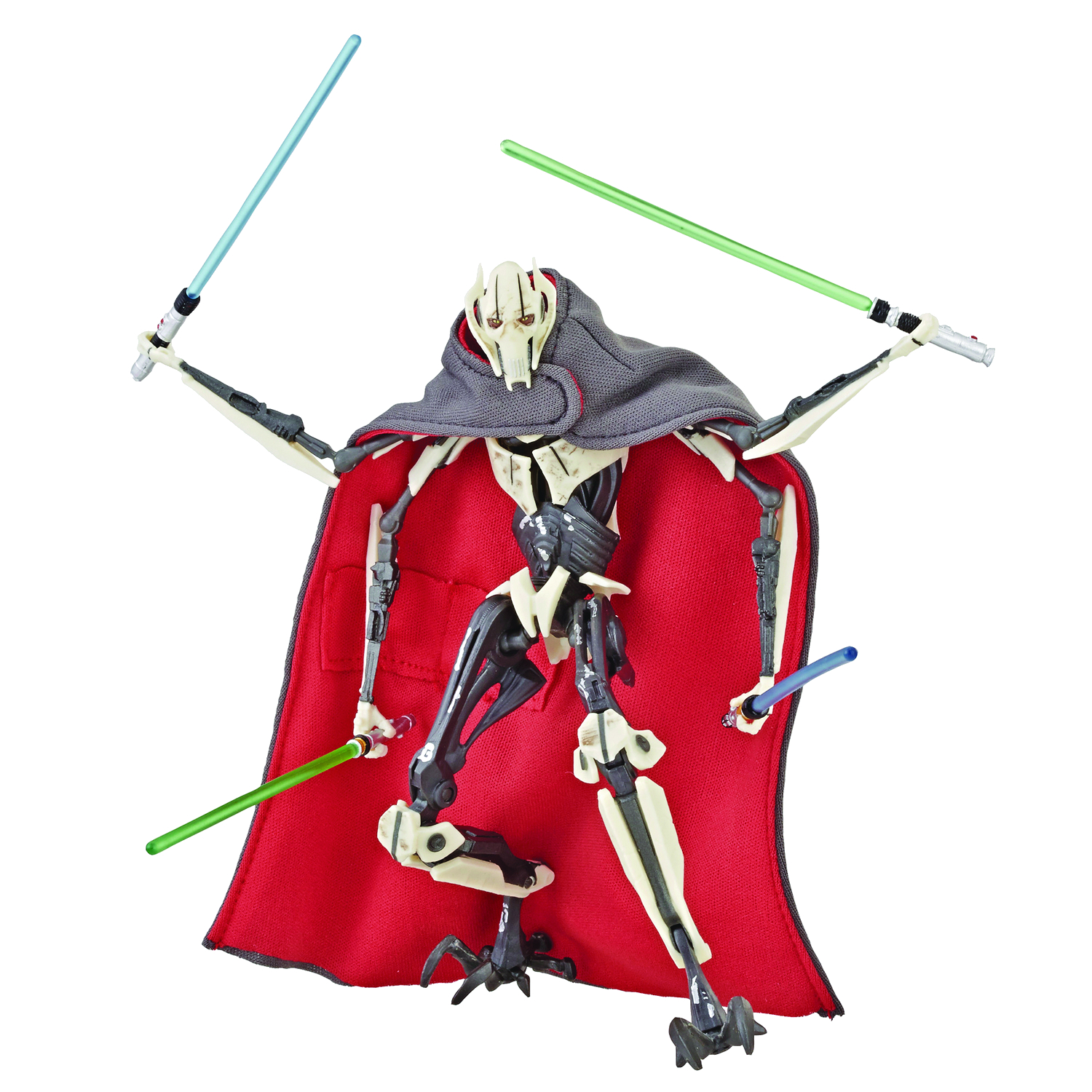SW BLACK SERIES 6IN DLX GENERAL GRIEVOUS AF (Net)