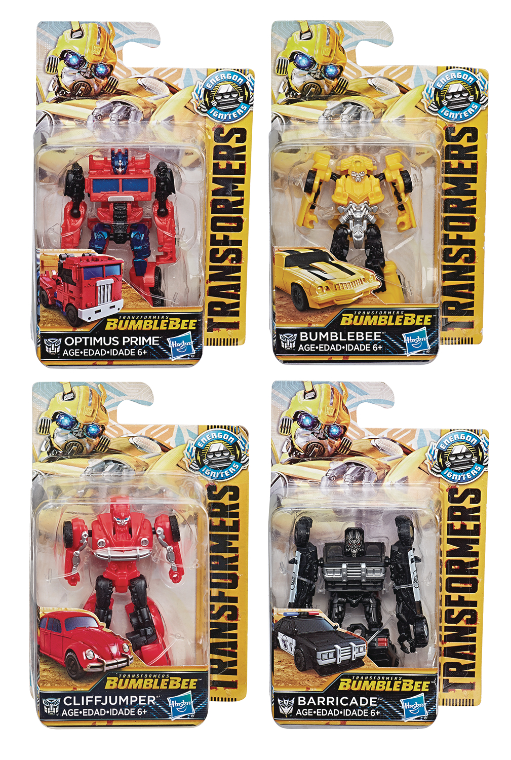 TRANSFORMERS BUMBLEBEE IGNITERS SPEED SER AF ASST 201901 (NE