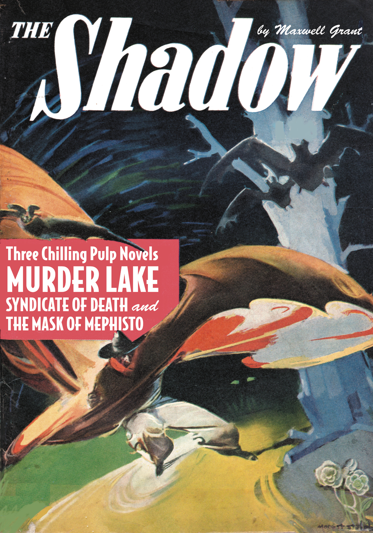 SHADOW DOUBLE NOVEL VOL 140 MURDER LAKE SYNDICATE OF DEATH (