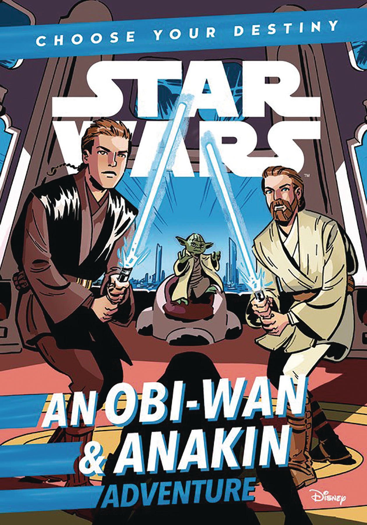 STAR WARS OBI-WAN & ANAKIN CHOOSE YOUR DESTINY ADV