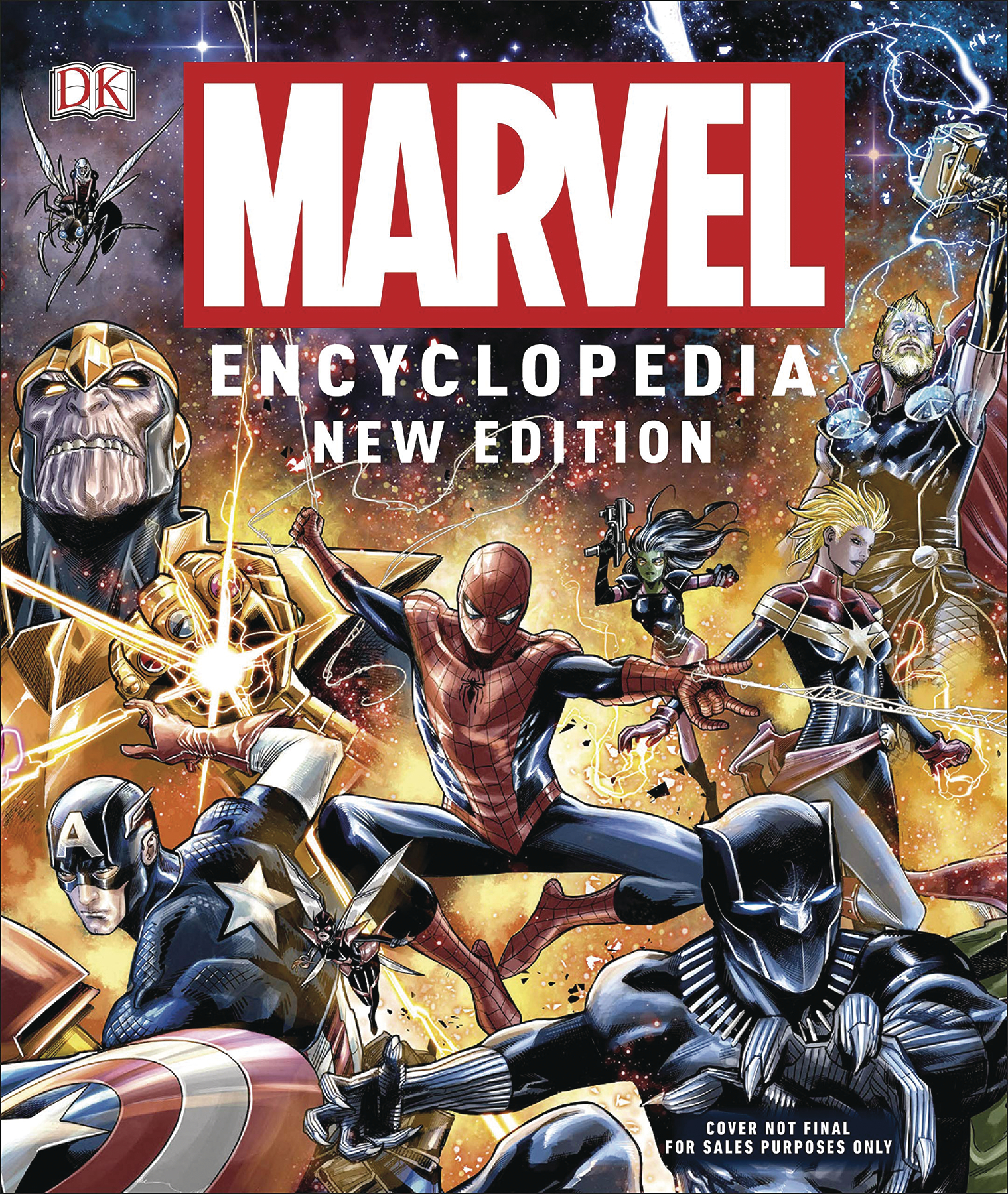 MARVEL ENCYCLOPEDIA HC (2019 ed.)