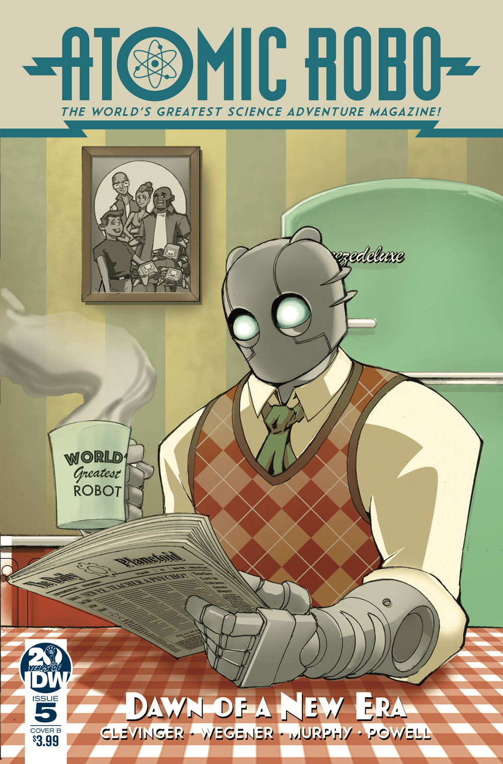 ATOMIC ROBO & DAWN OF NEW ERA #5 (OF 5) CVR B GRIFFITH