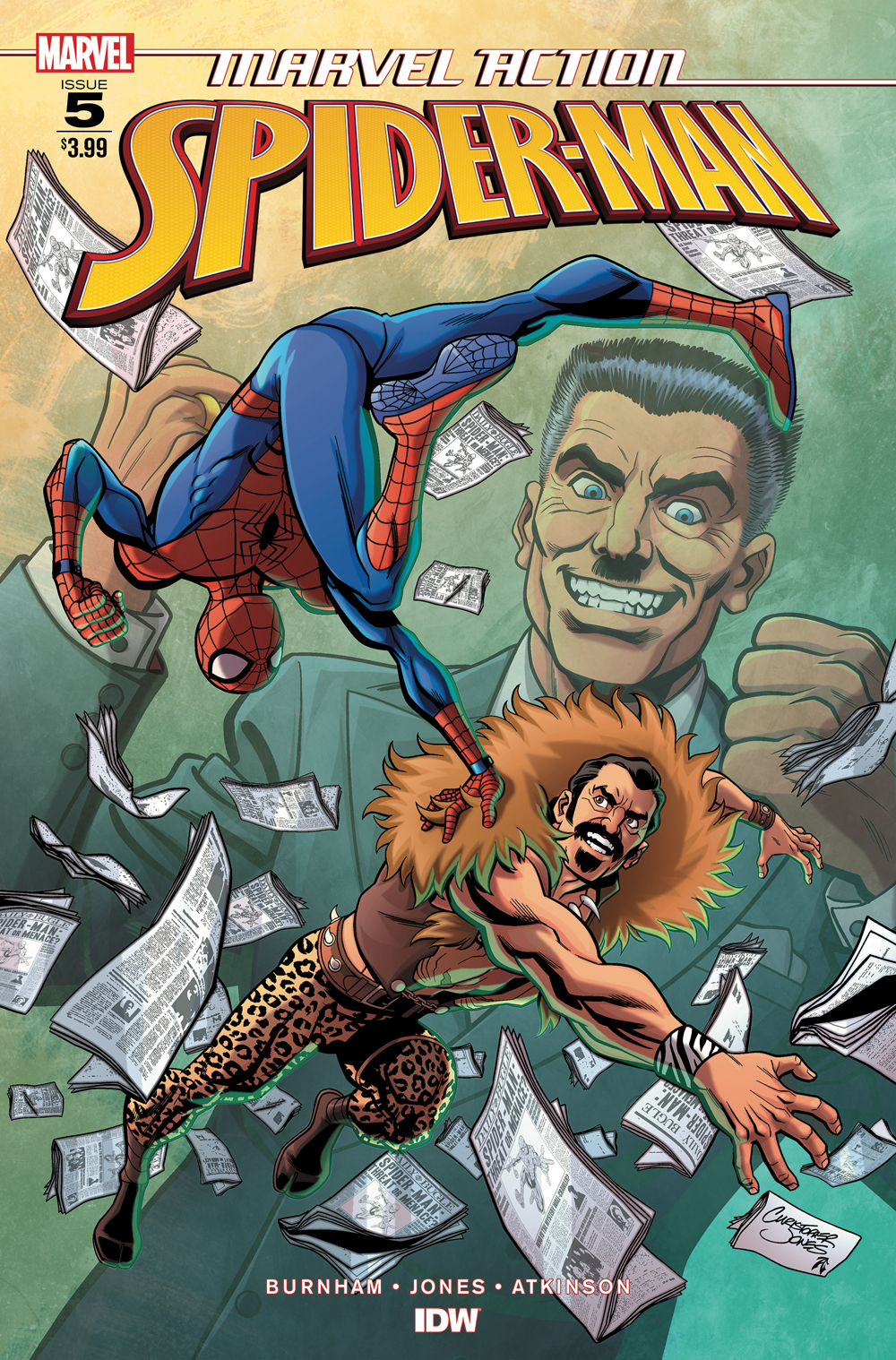 MARVEL ACTION SPIDER-MAN #5 JONES
