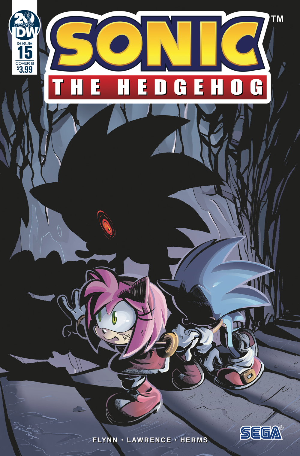 SONIC THE HEDGEHOG #15 CVR B SKELLY