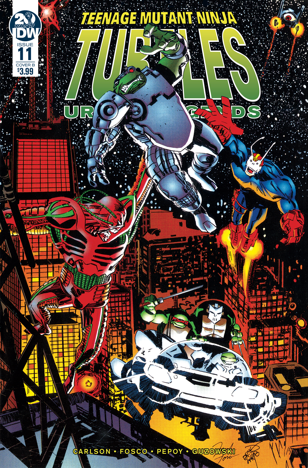 TMNT URBAN LEGENDS #11 CVR B FOSCO & LARSEN