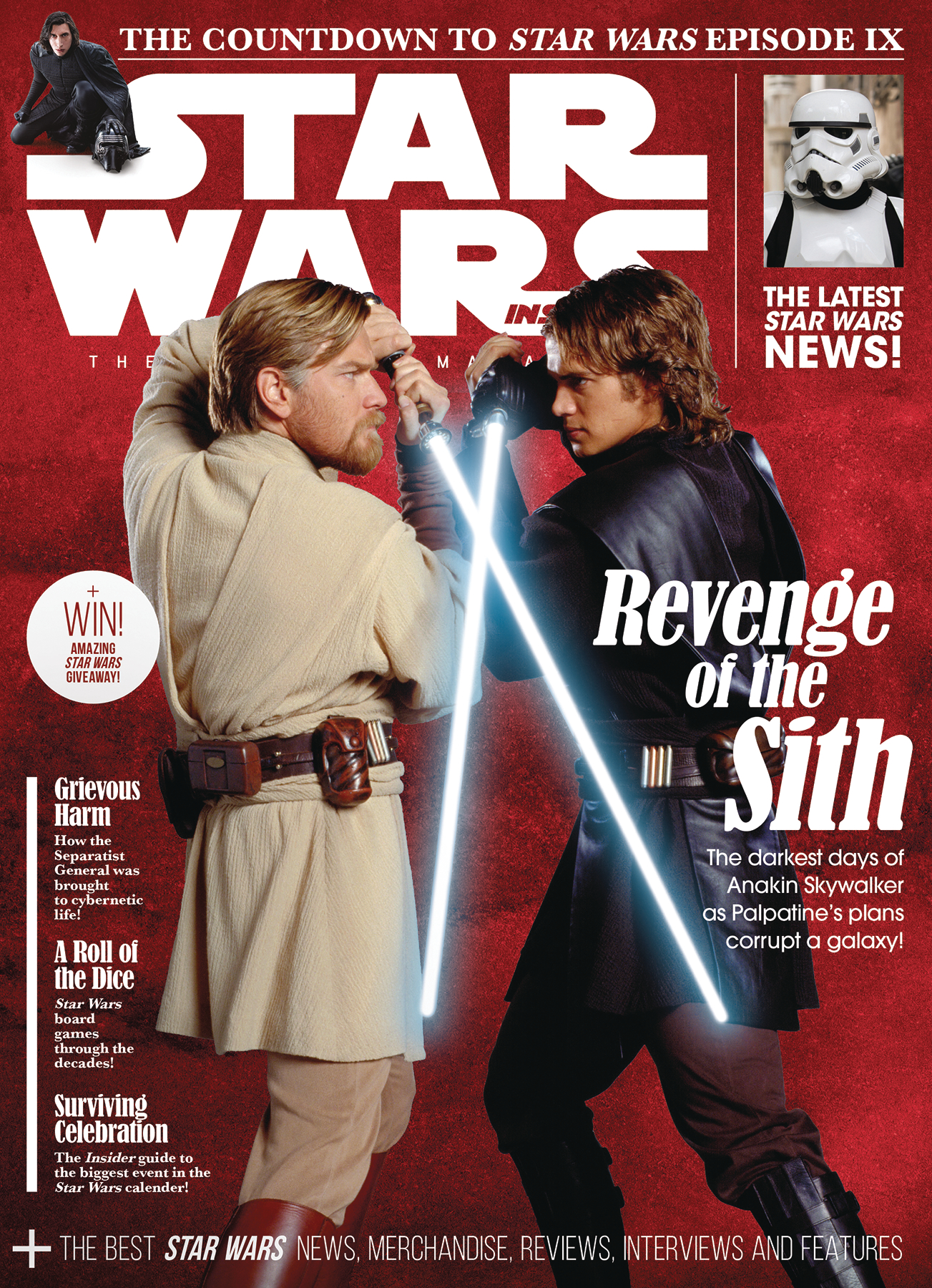 STAR WARS INSIDER #188 NEWSSTAND ED