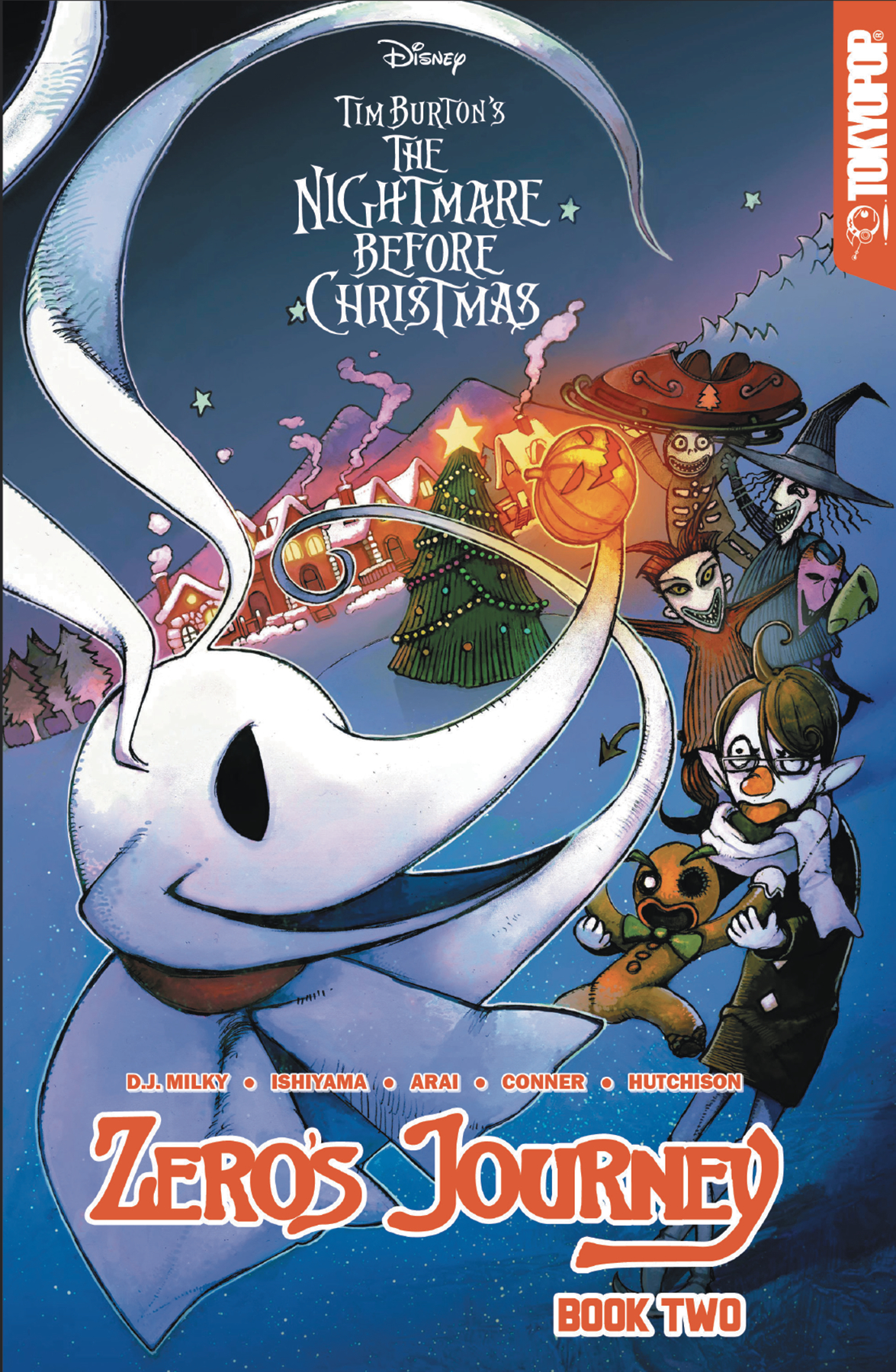 DISNEY MANGA NIGHTMARE CHRISTMAS ZEROS JOURNEY TP VOL 02 (JA