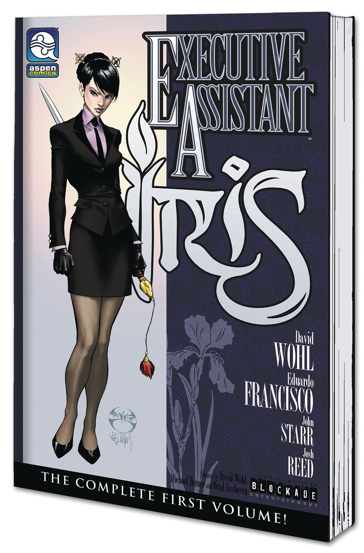 EXECUTIVE ASSISTANT IRIS TP VOL 01 (MR)