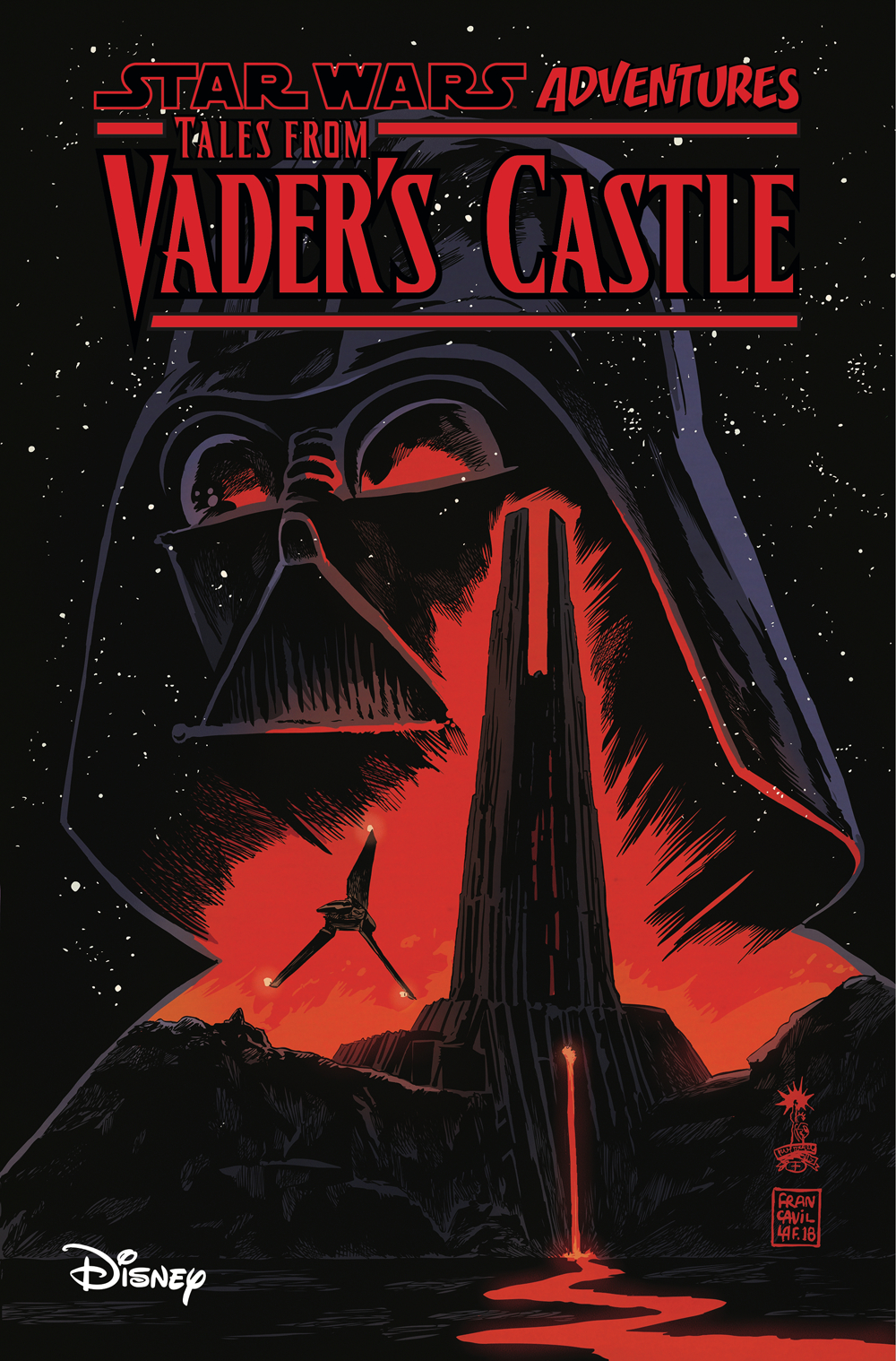 STAR WARS ADVENTURES TALES FROM VADERS CASTLE TP
