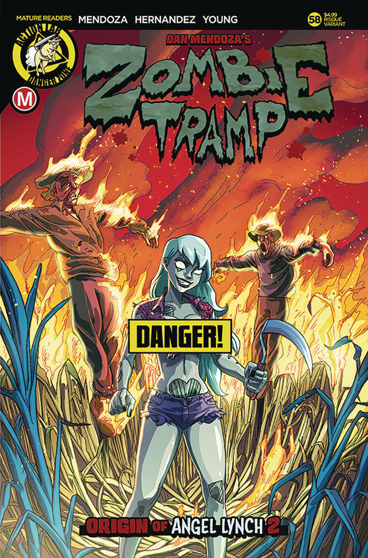 ZOMBIE TRAMP ONGOING #58 CVR B YOUNG RISQUE (MR)