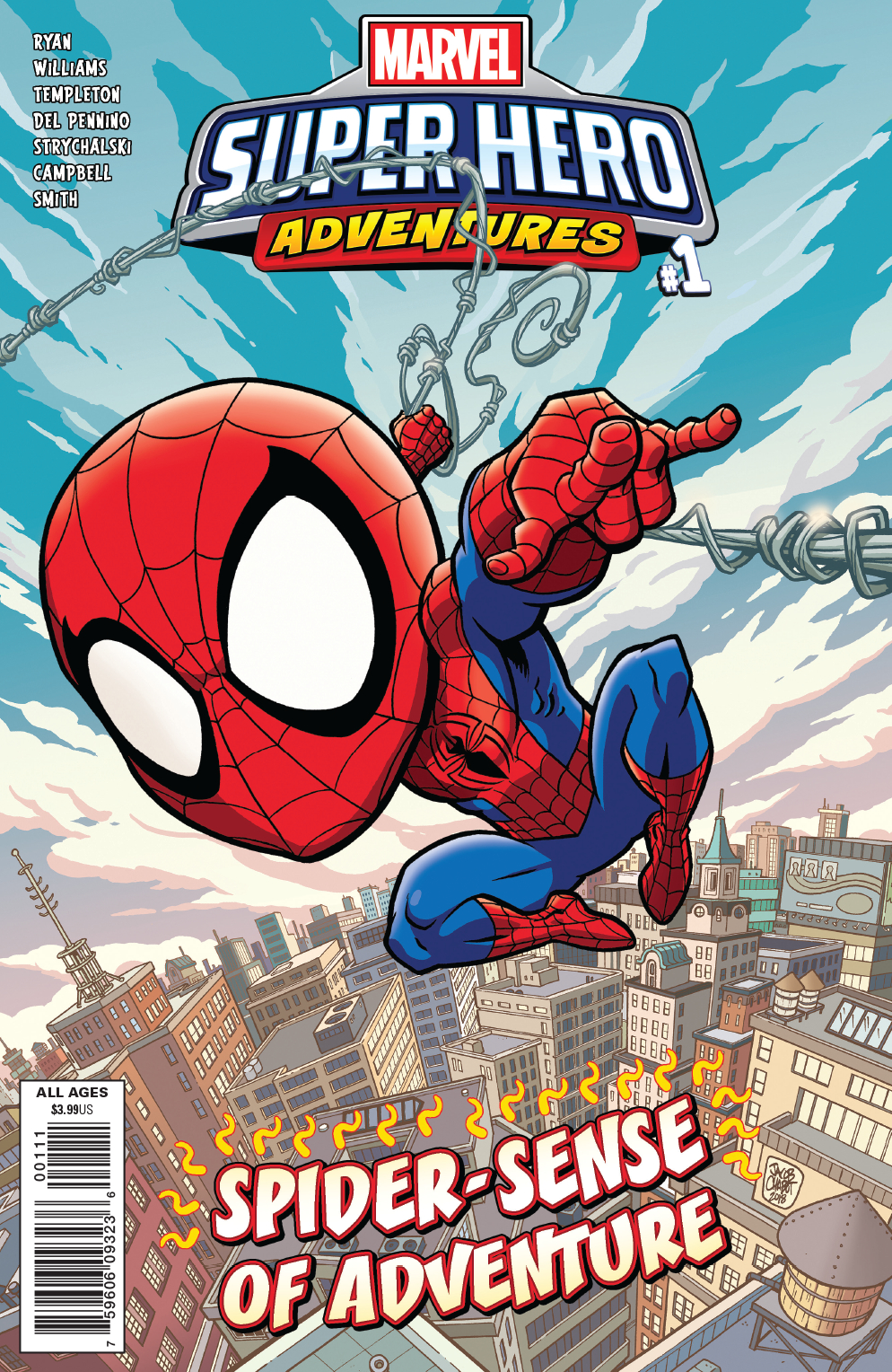 MSH ADVENTURES SPIDER-MAN SPIDER-SENSE OF ADVENTURE #1