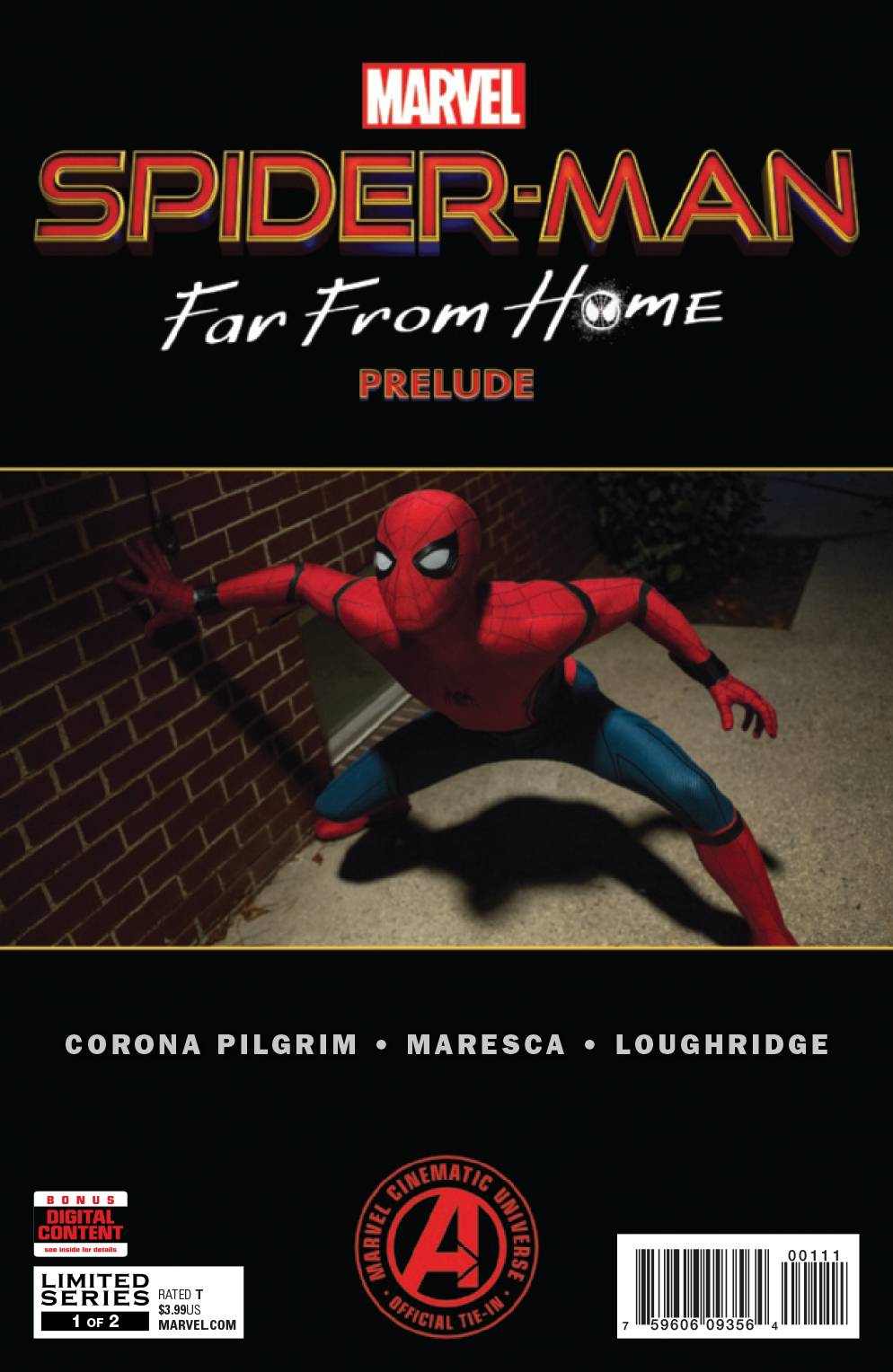 SPIDER-MAN FAR FROM HOME PRELUDE #1 (OF 2)