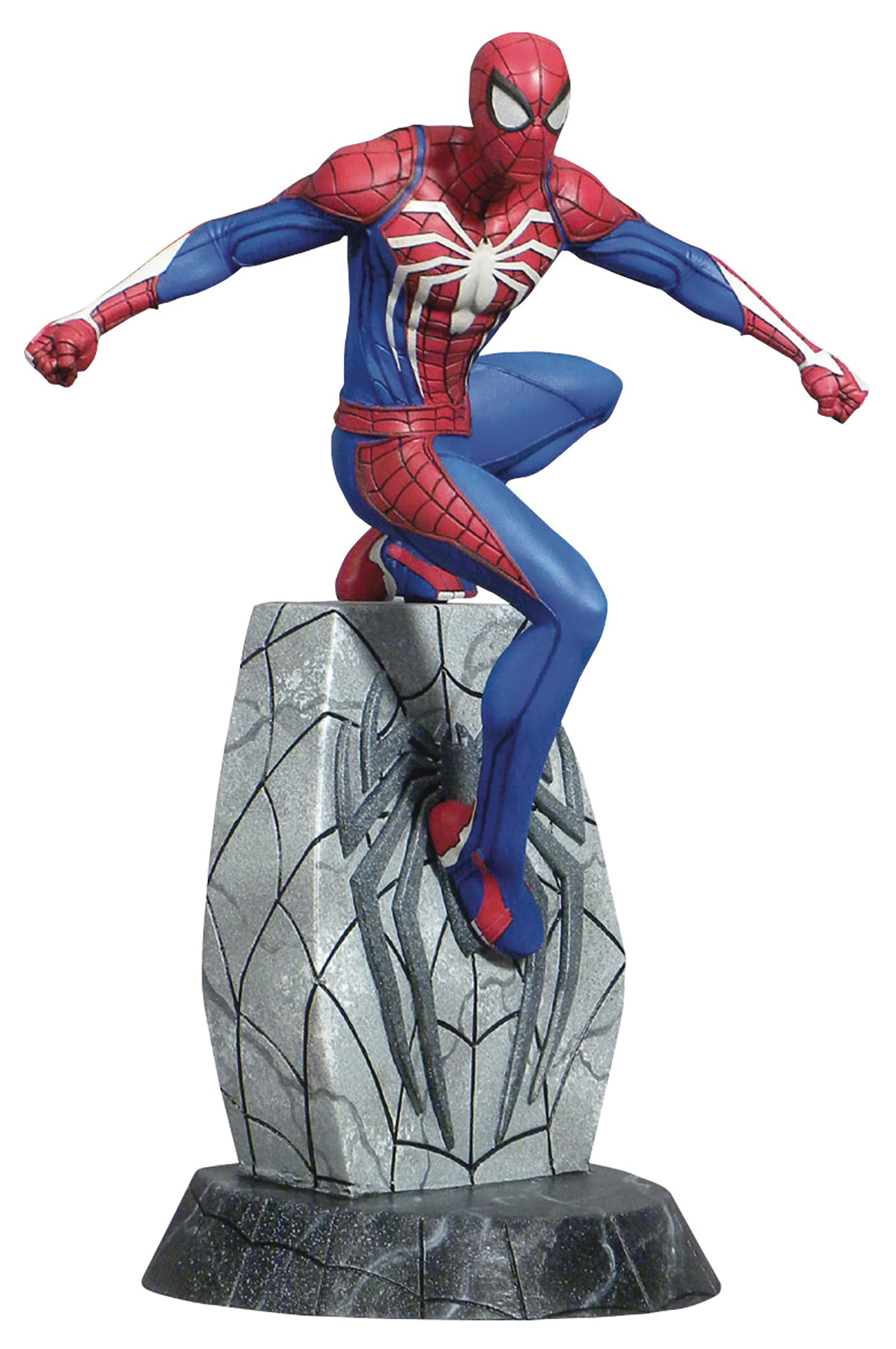 JAN192552 - MARVEL GALLERY SPIDER-MAN PS4 PVC FIGURE - Previews World