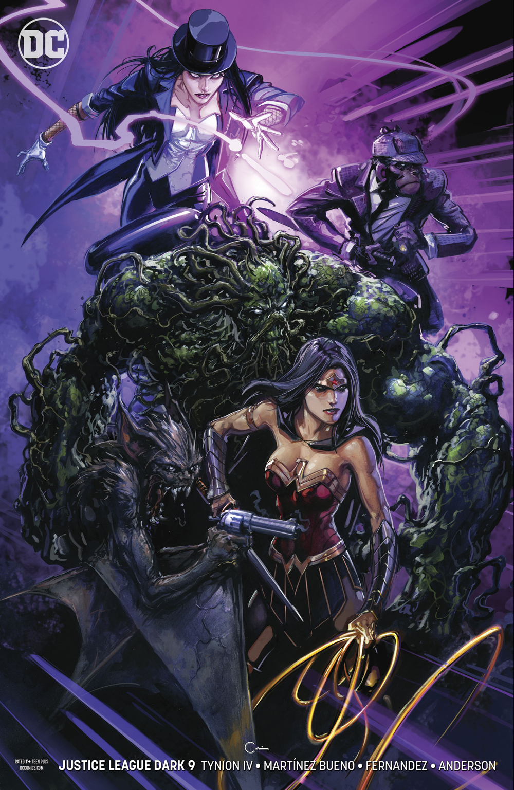 JUSTICE LEAGUE DARK #9 VAR ED