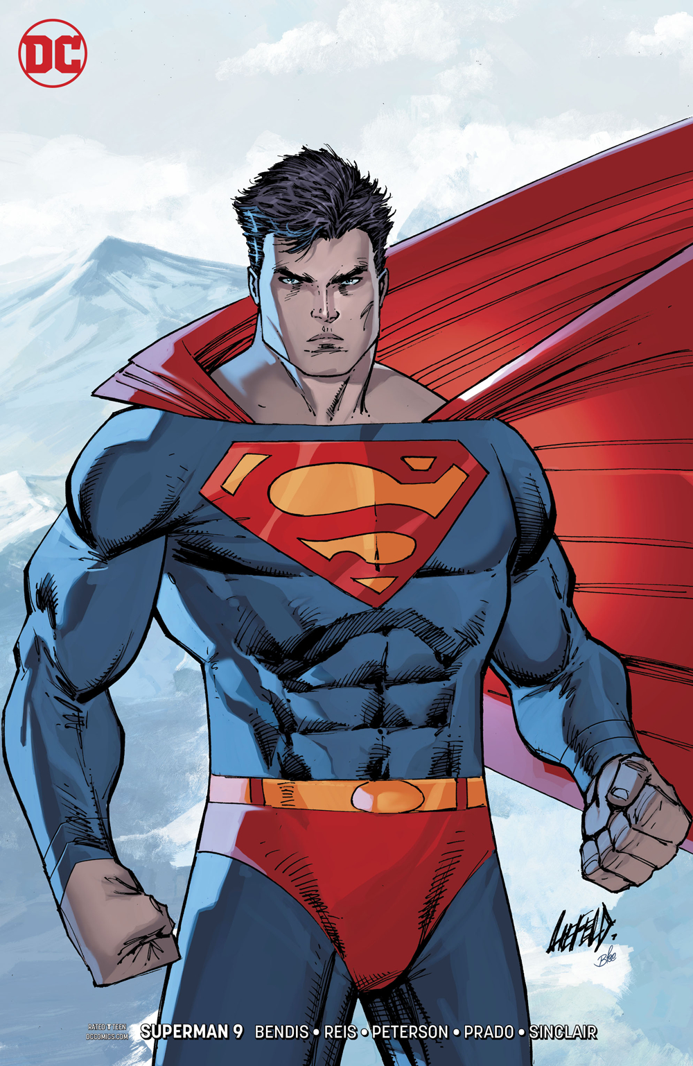 SUPERMAN #9 VAR ED