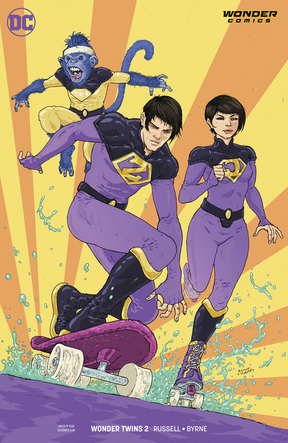 WONDER TWINS #2 (OF 6) VAR ED