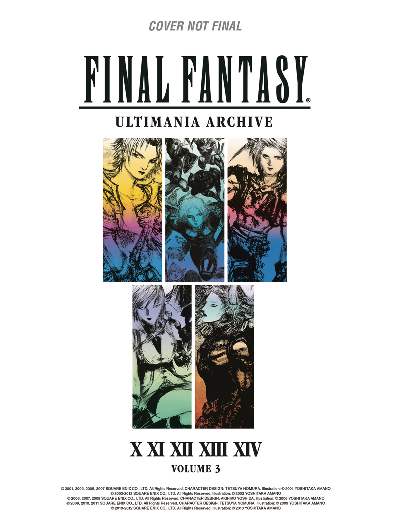 FINAL FANTASY ULTIMANIA ARCHIVE HC VOL 03